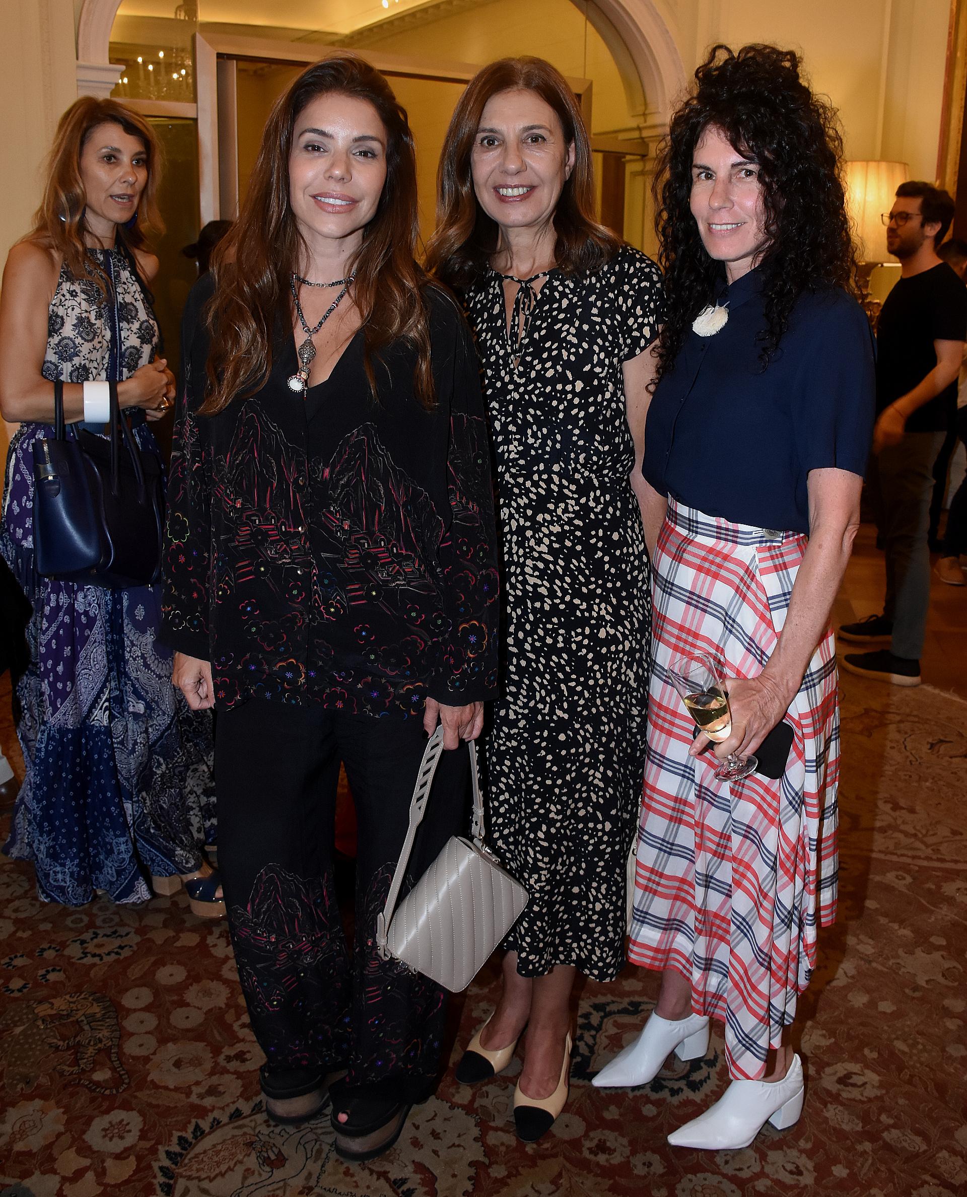Romina Pigretti, Zoraida Awada y Cynthia Cohen