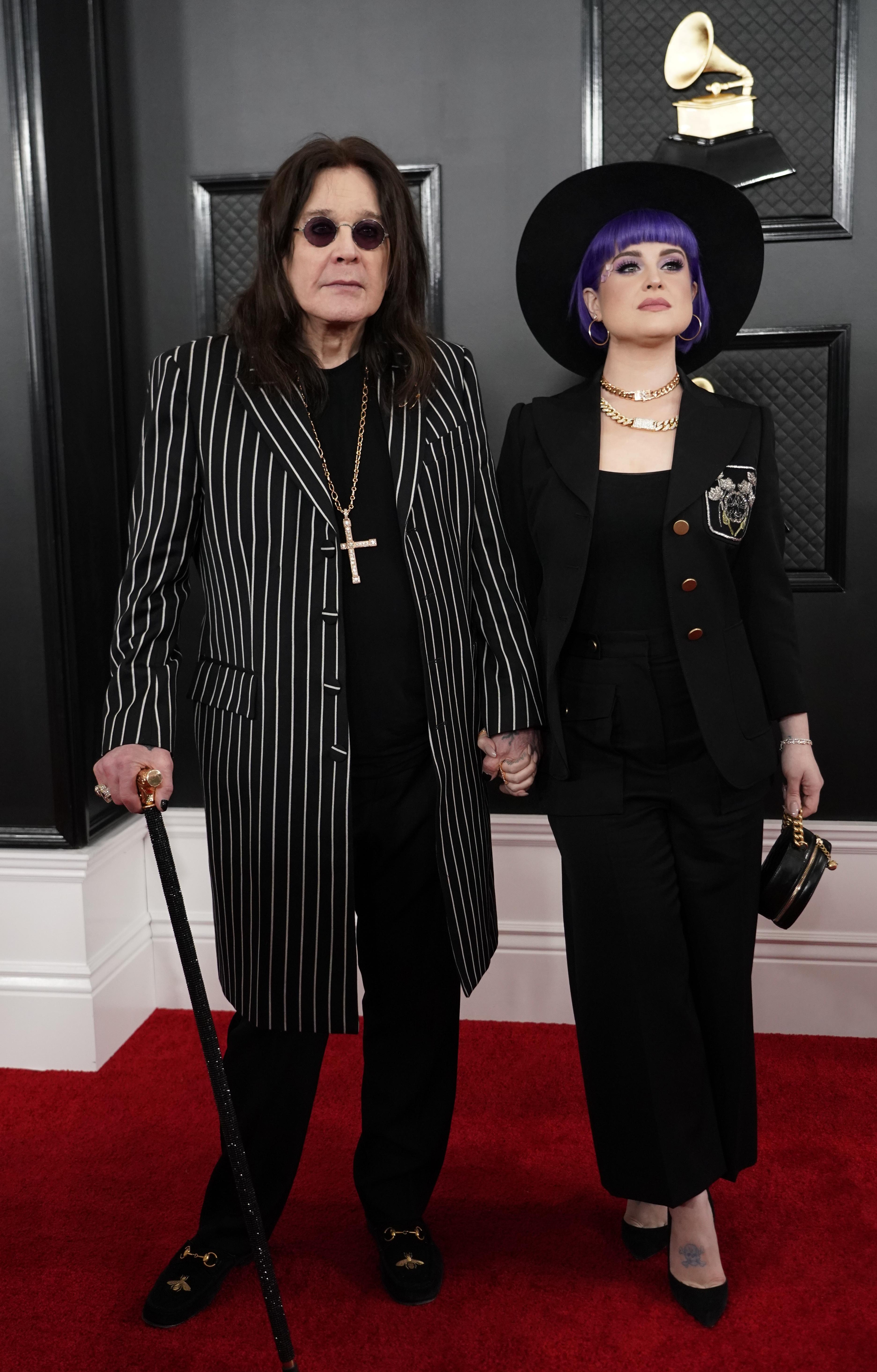 Ozzy Osbourne y Kelly Osbourne -
