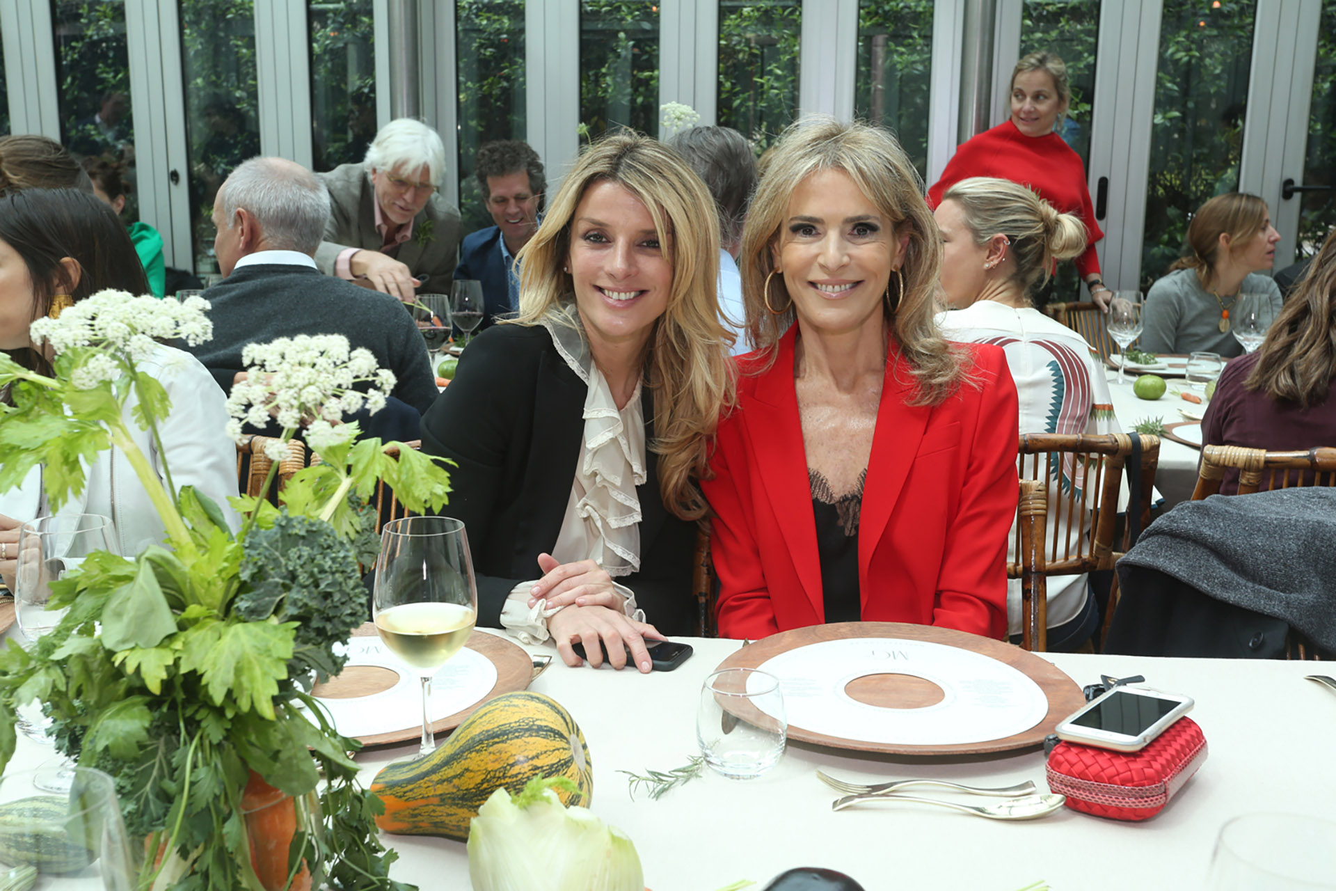 Andrea Martínez y Rossella Della Giovampaola