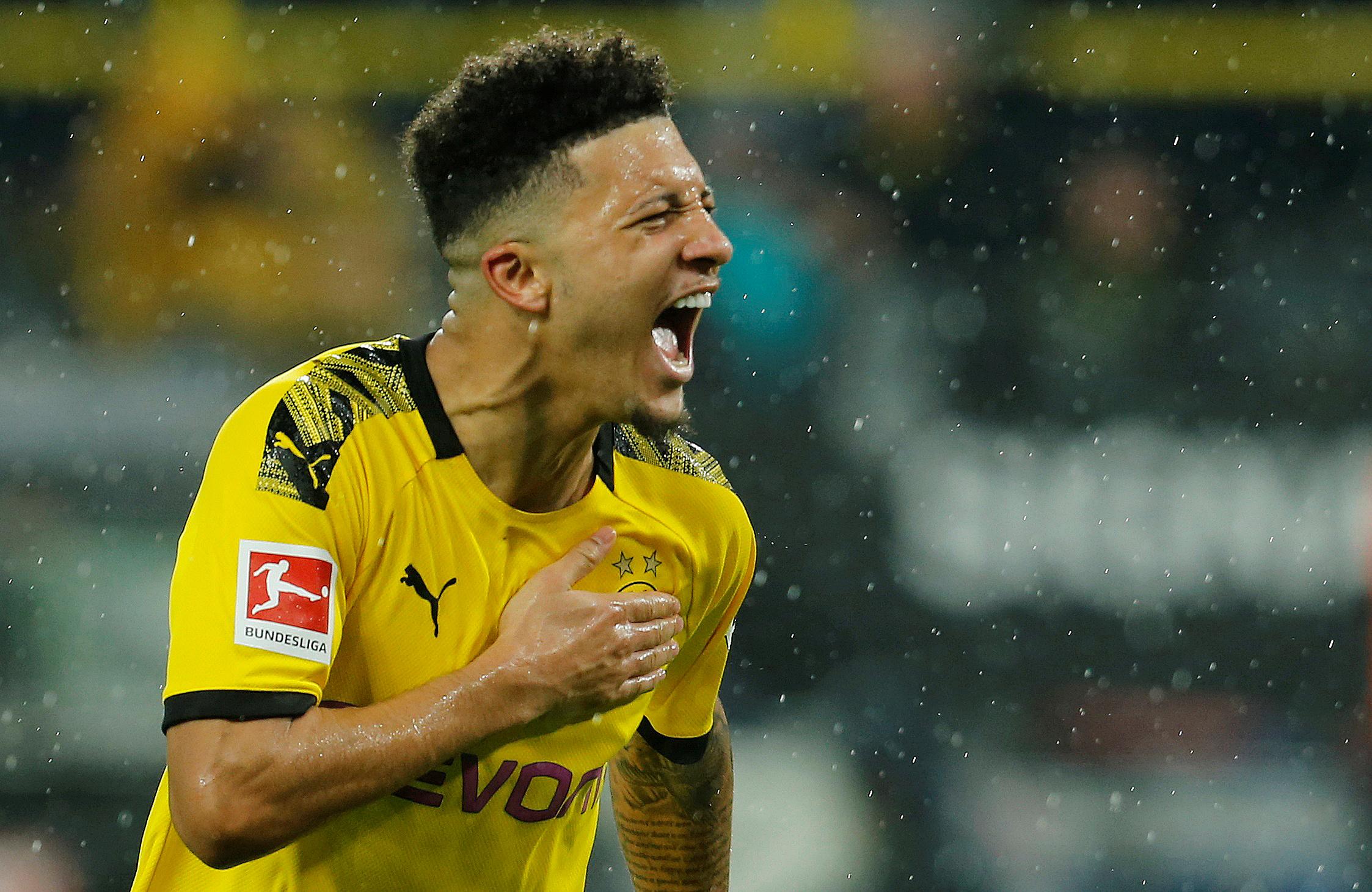 Jadon Sancho , alemán de 19 años, Borussia Dortmund- USD 188,3