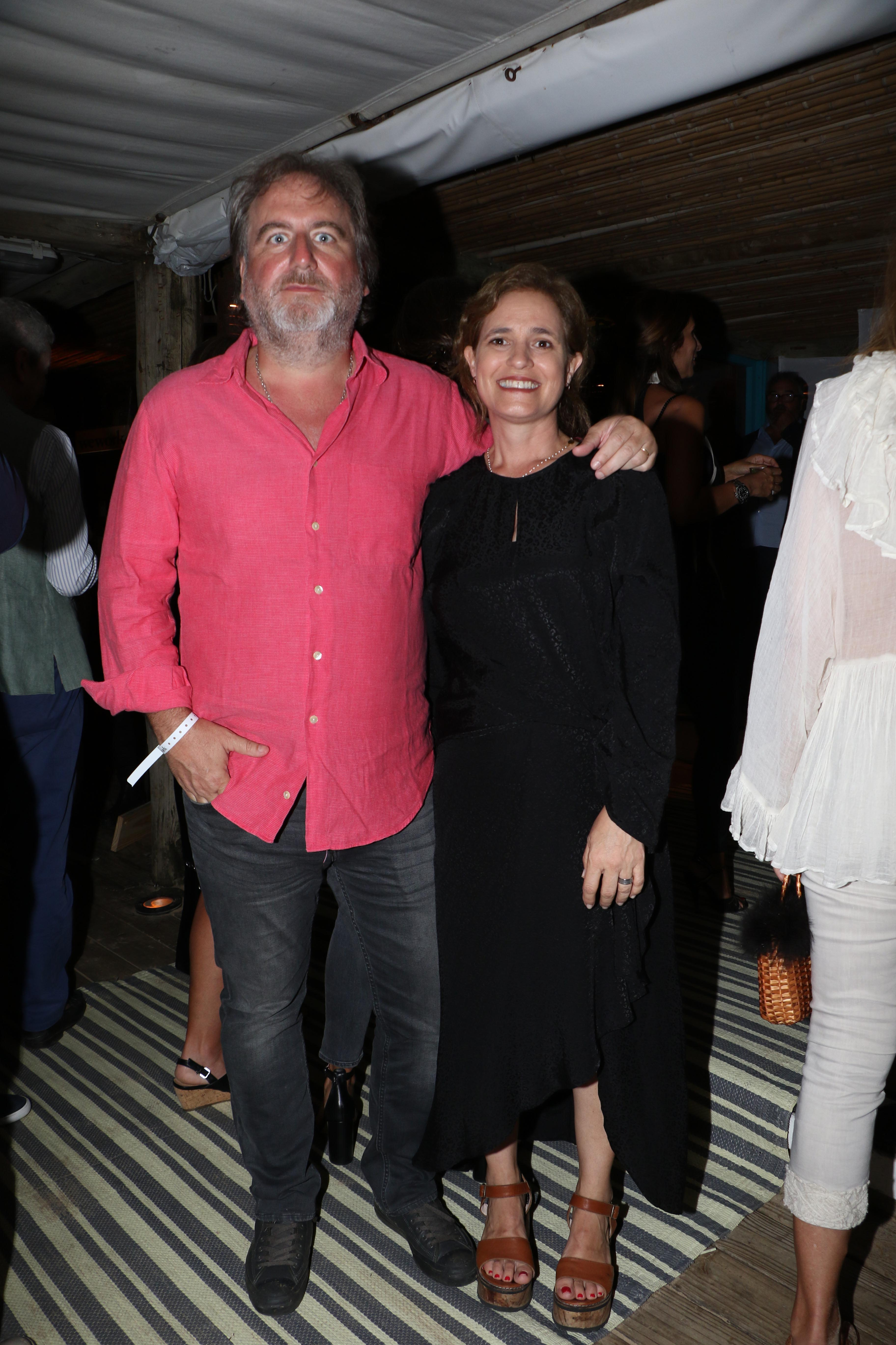 Tato Lanusse y Silvina Pueyrredon