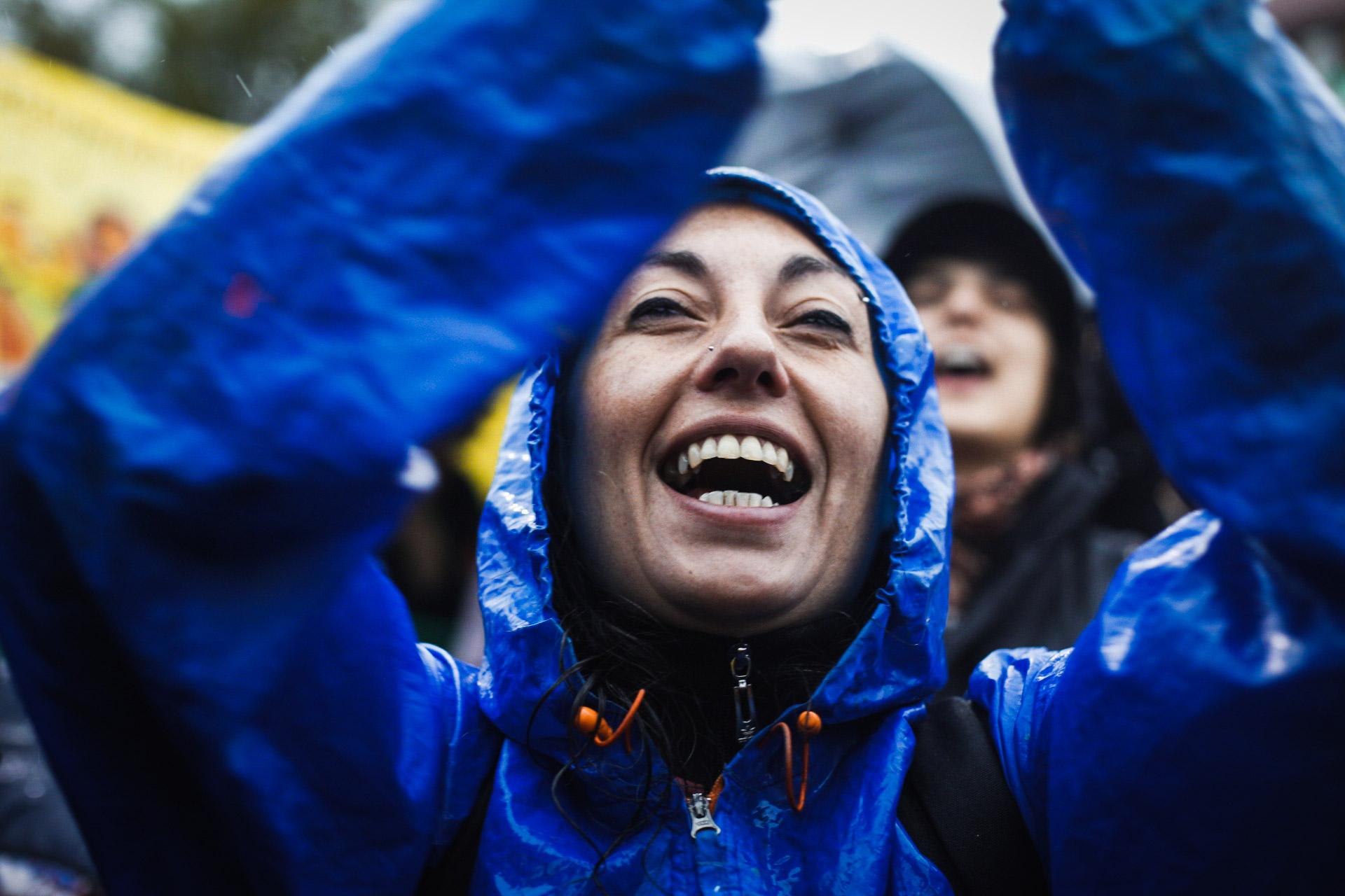 Nada impidió que una multitud de mujeres y disidencias se hagan presentes en el 34° Encuentro Nacional de Mujeres