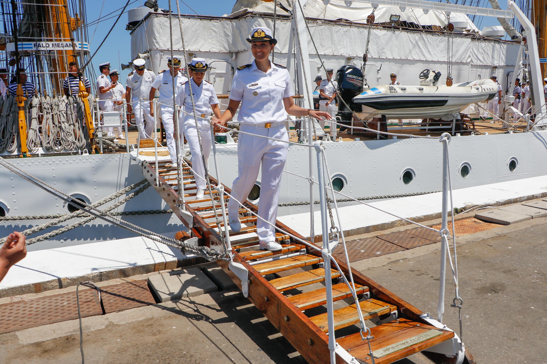 Desde su entrega, la Fragata ha recorrido más de 800 000 millas náuticas alrededor del mundo y fuera de su apostadero ha pasado el equivalente a 17 años en el mar
