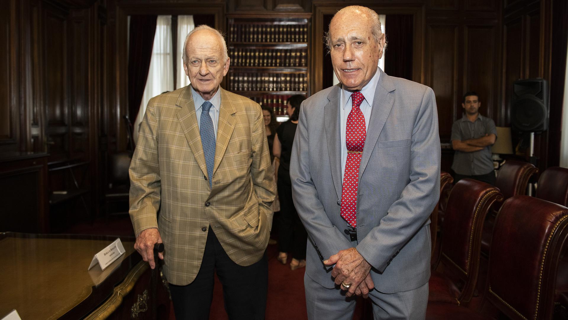 Los abogados Badeni y Vanossi fueron parte del jurado