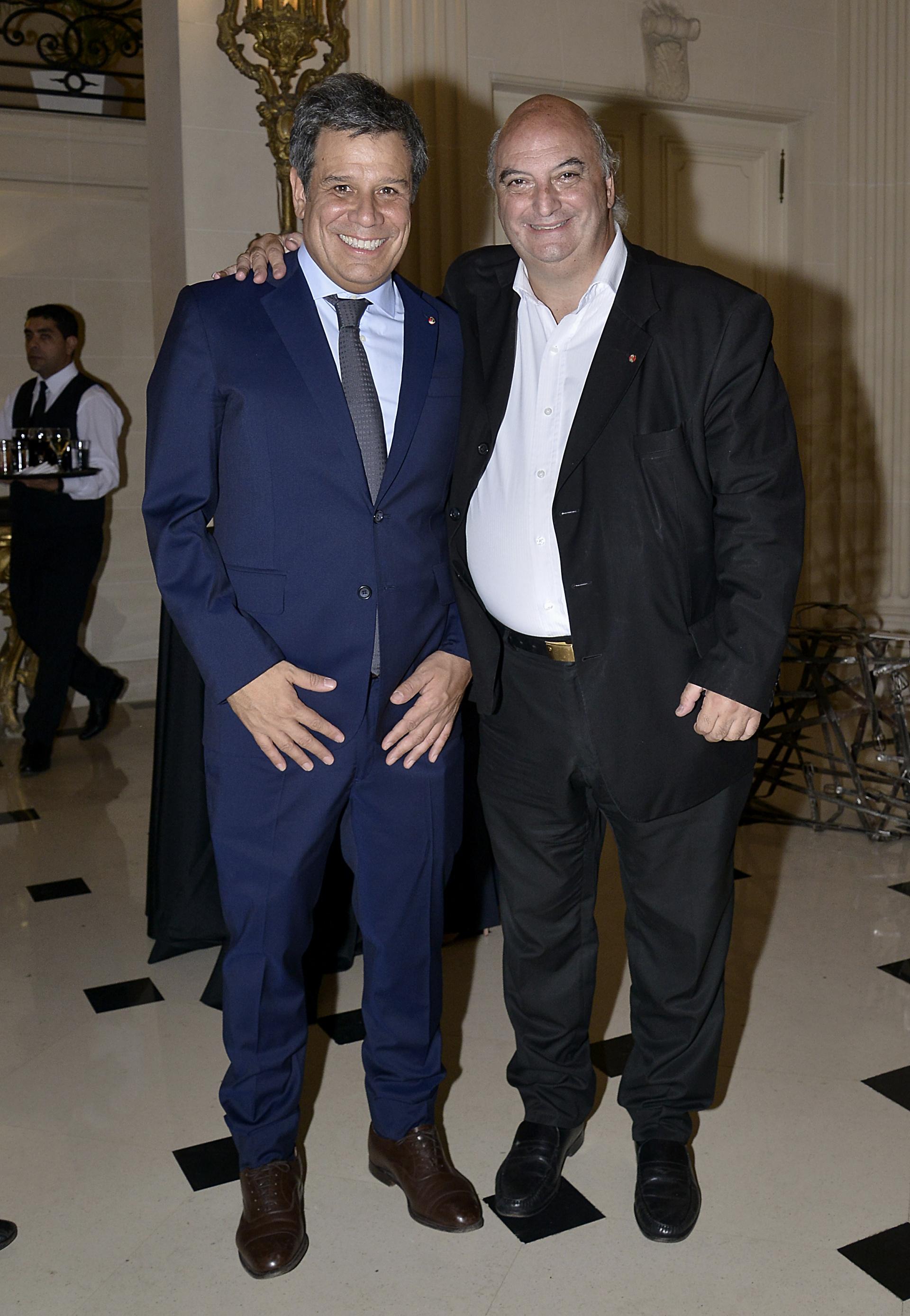 Facundo Manes y Pablo Garzonio, subsecretario de Fortalecimiento Institucional de la Legislatura Porteña