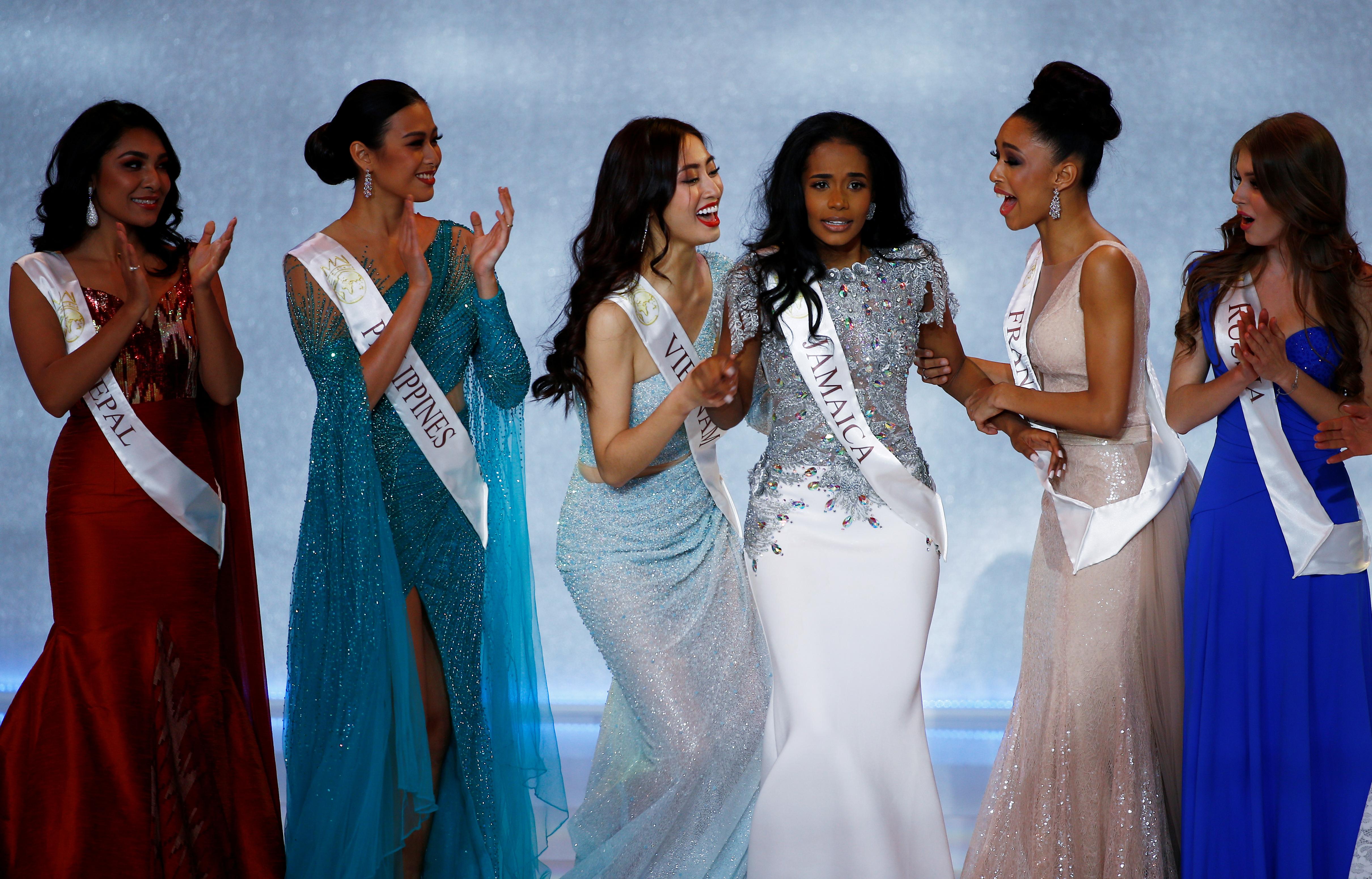 Singh es la cuarta jamaiquina que se consagra Miss Mundo