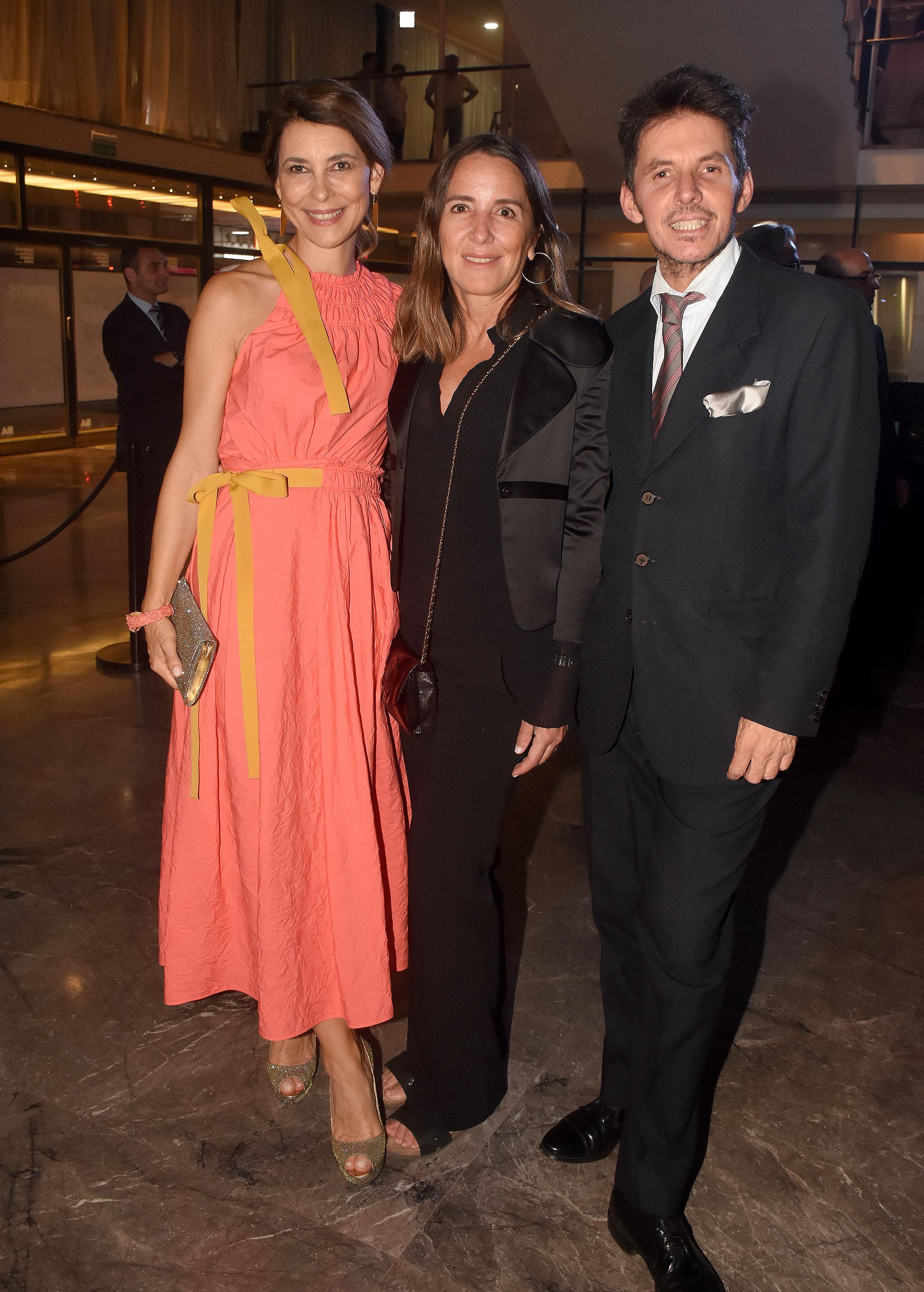 Adriana Batan de Rocca, Verónica Zoani de Nutting y Gerard Confalonieri