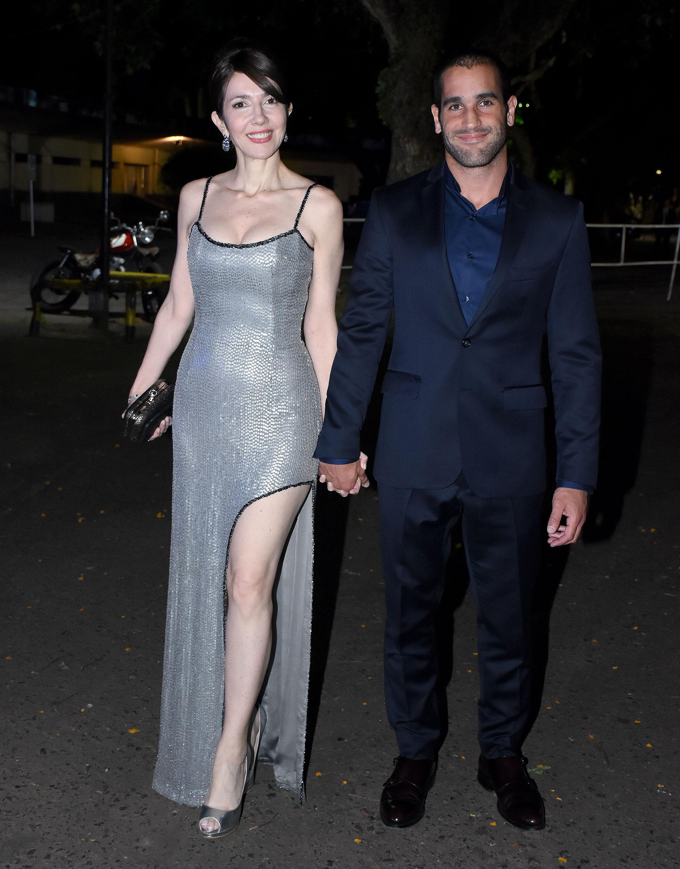 Cristina Pérez y su novio Yoel Freue