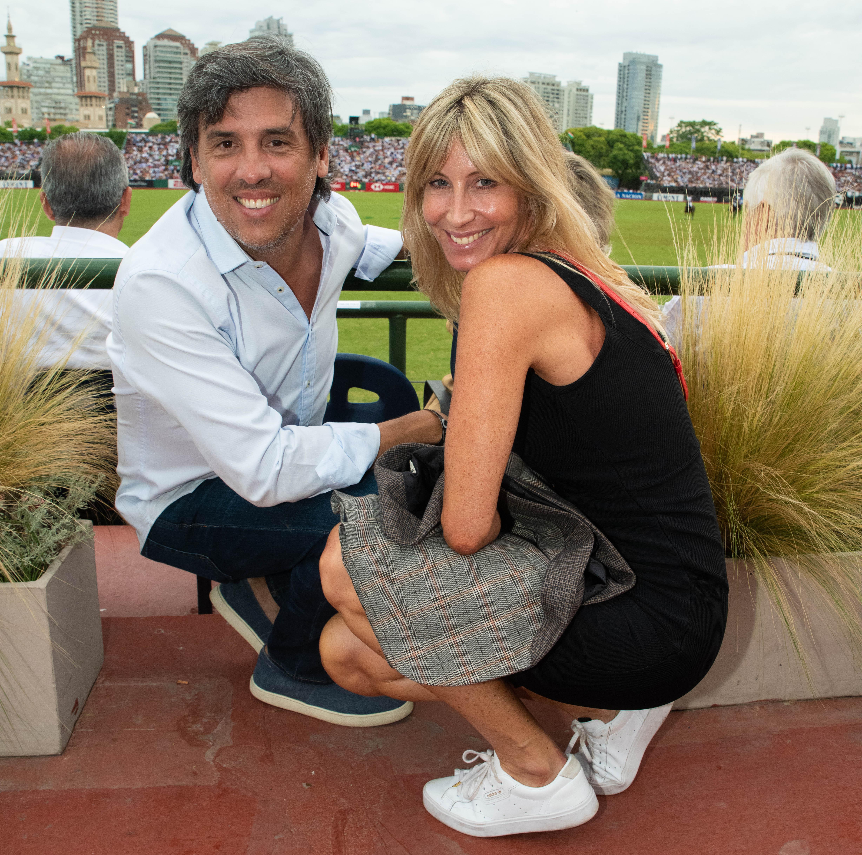 Eduardo Boccardo y Soledad Solaro