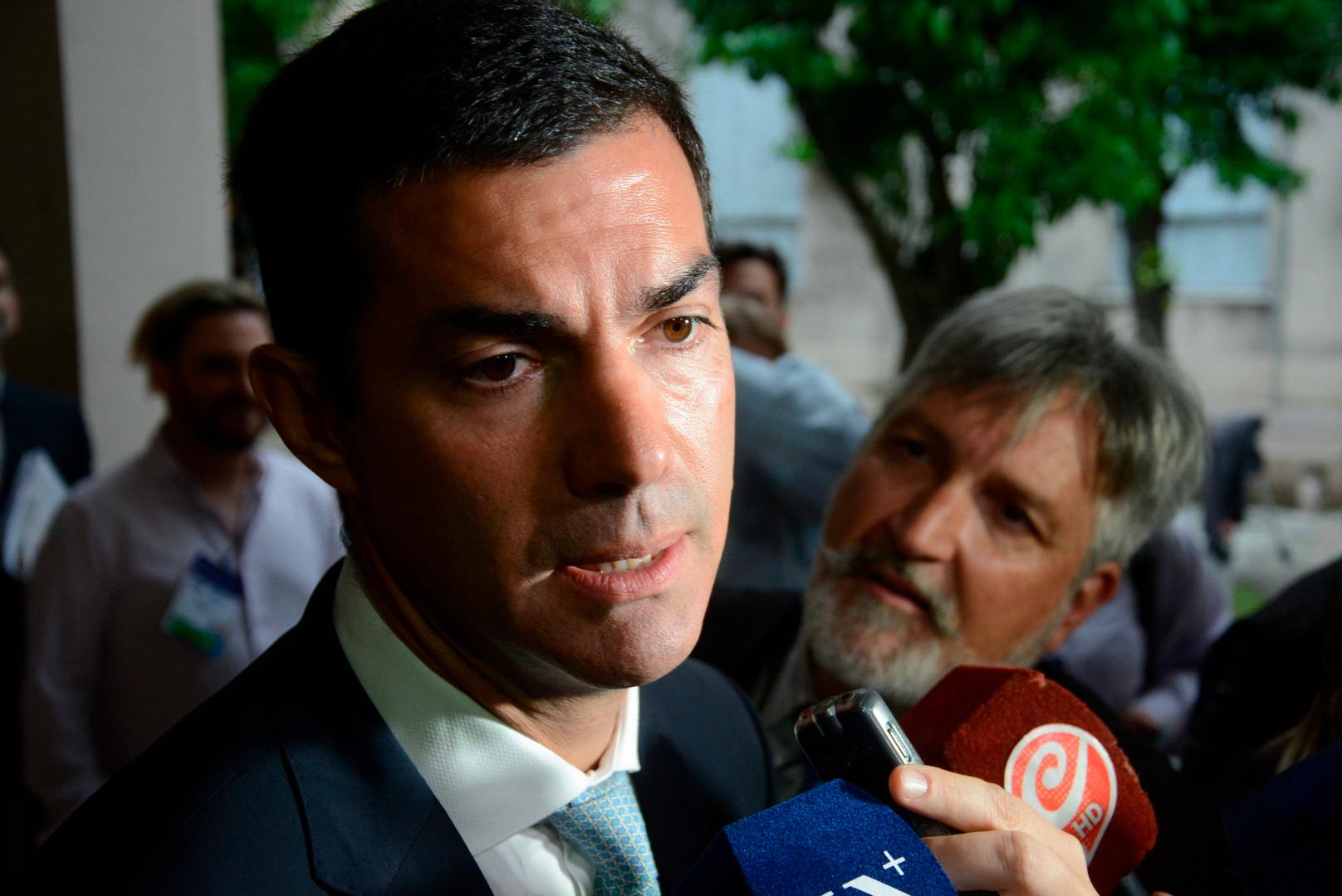 El gobernador de Salta y compañero de fórmula de Roberto Lavagna, Juan Manuel Urtubey