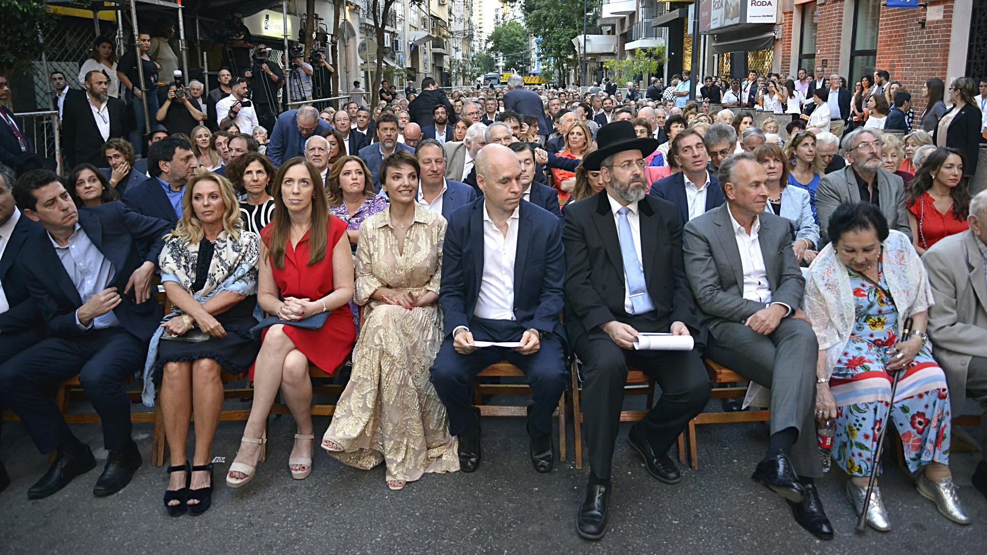 La reapertura del Museo de la Shoá de Buenos Aires fue celebrada por importantes líderes políticos, religiosos, sobrevivientes del holocausto, representantes diplomáticos y miembros de las comunidades religiosas que conviven en la Argentina