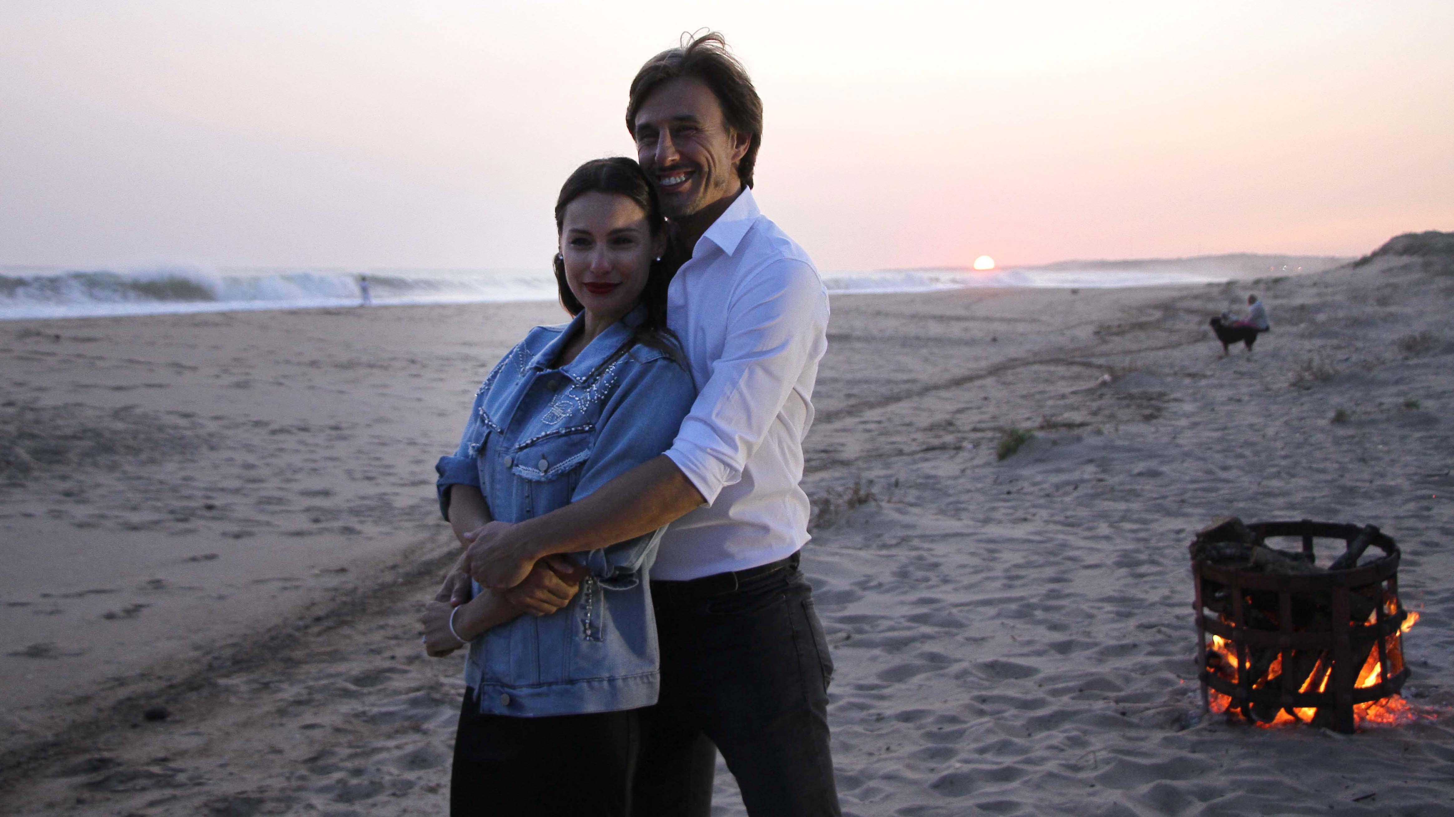 Todo comenzó con la puesta del sol, en una maravillosa postal que ofrece José Ignacio