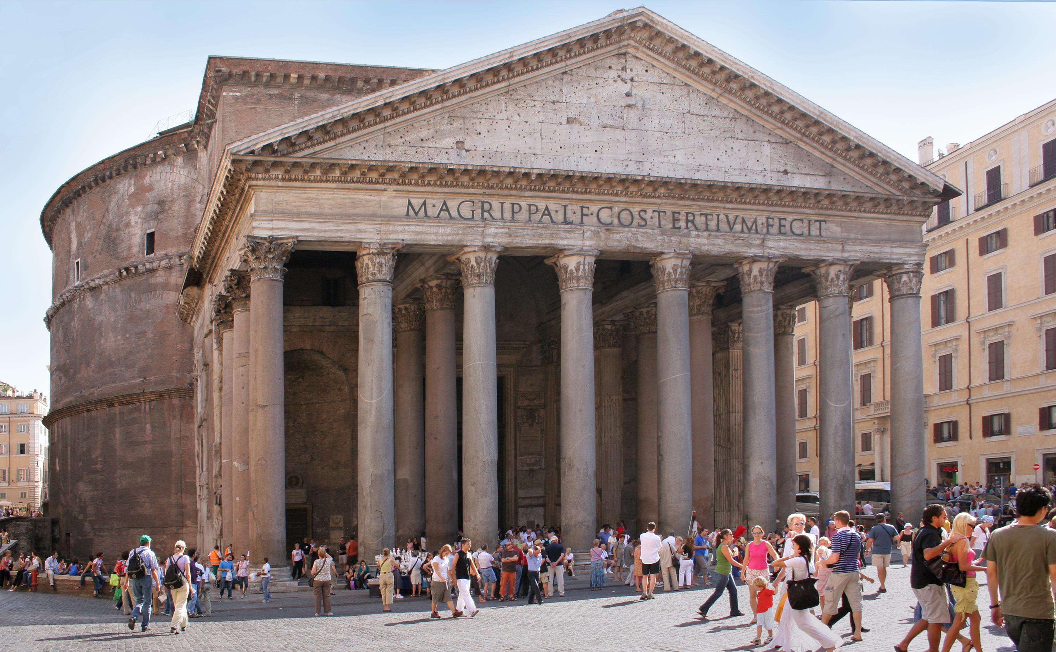 El Panteón, en Roma (Roberta Dragan/Wikimedia Commons)