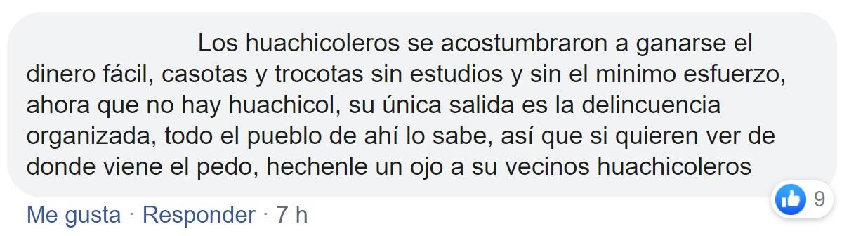 Usuarios de redes sociales hablaron sobre el crimen (Foto: Facebook)