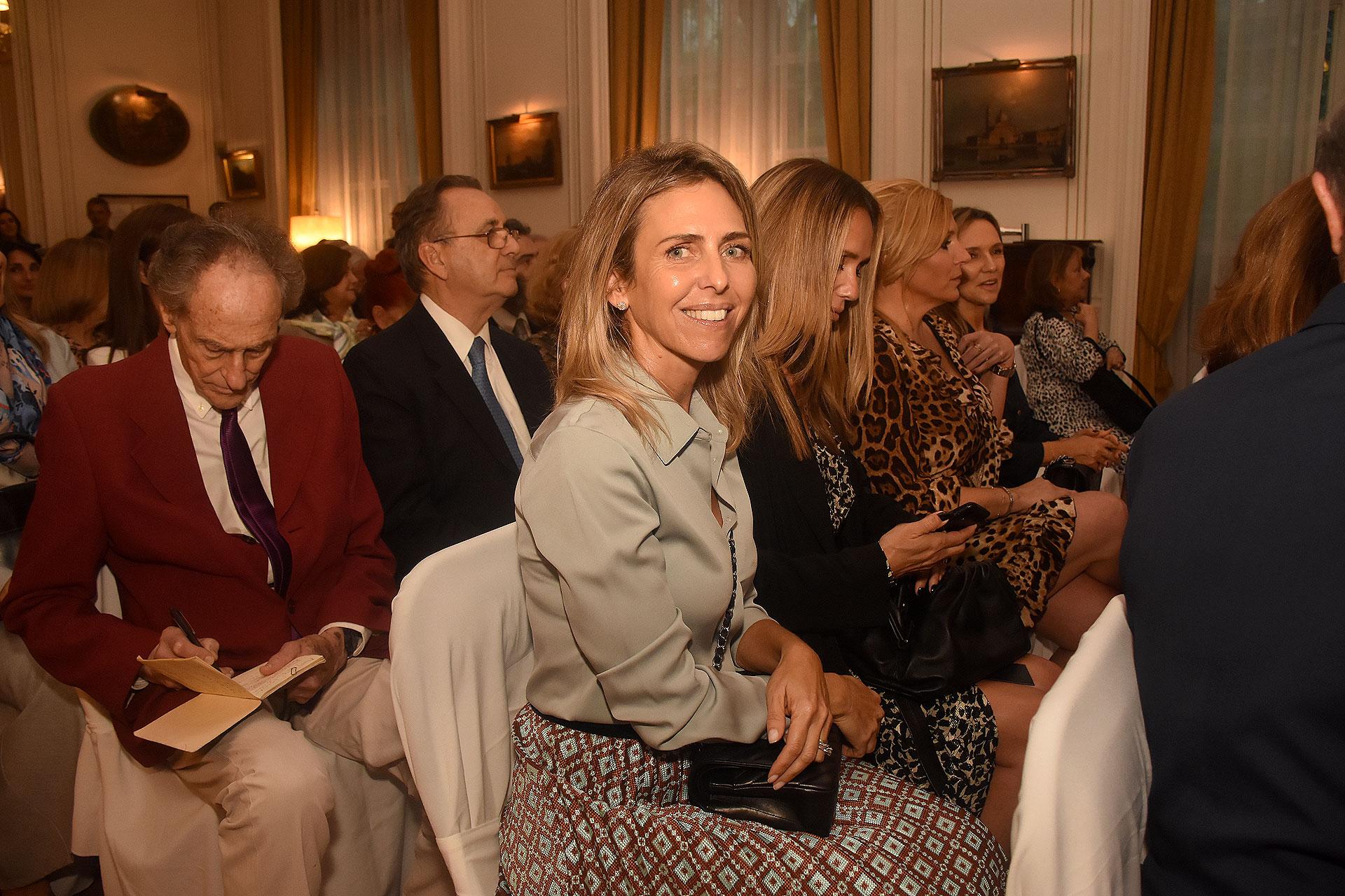 La celebración tuvo lugar en uno de los históricos salones de la embajada italiana en Buenos Aires
