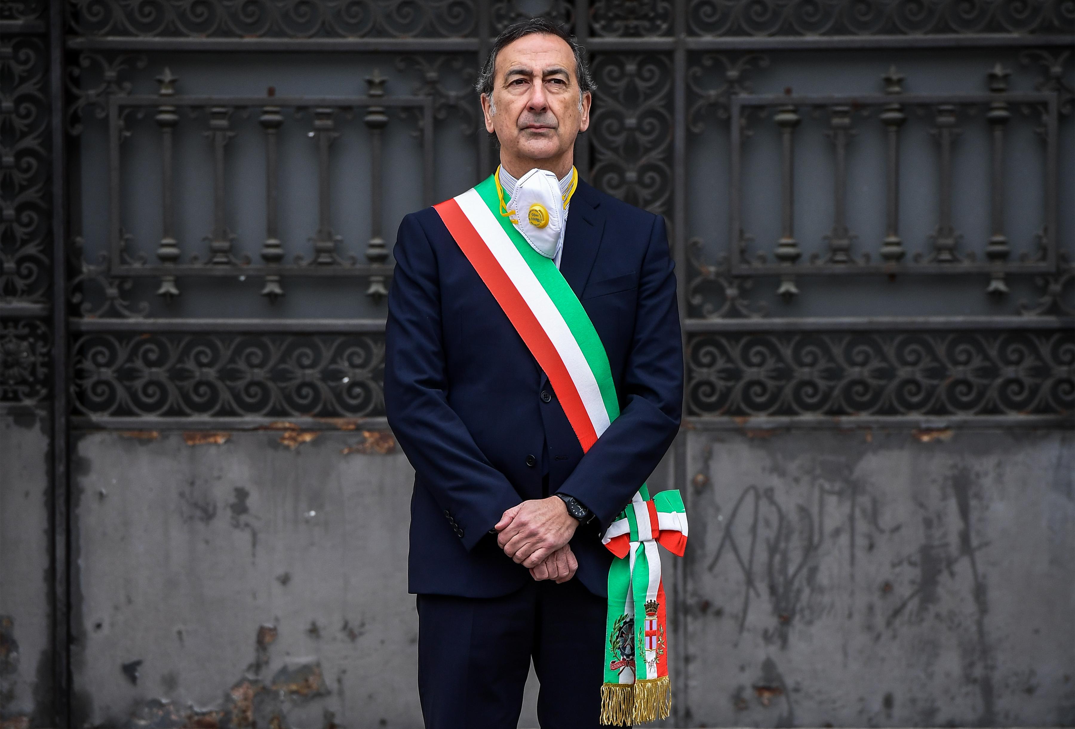 El alcalde de Milán Giuseppe Sala (Miguel MEDINA / AFP)