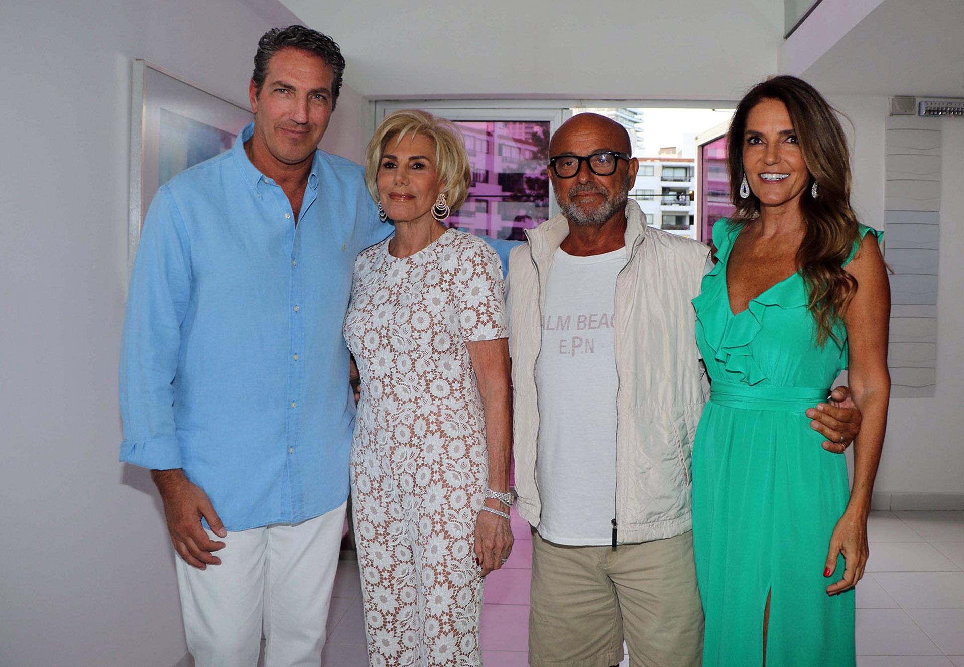 Andrés Szabo, Ada de Maurier, Daniel Tangona y María Belén Chapur