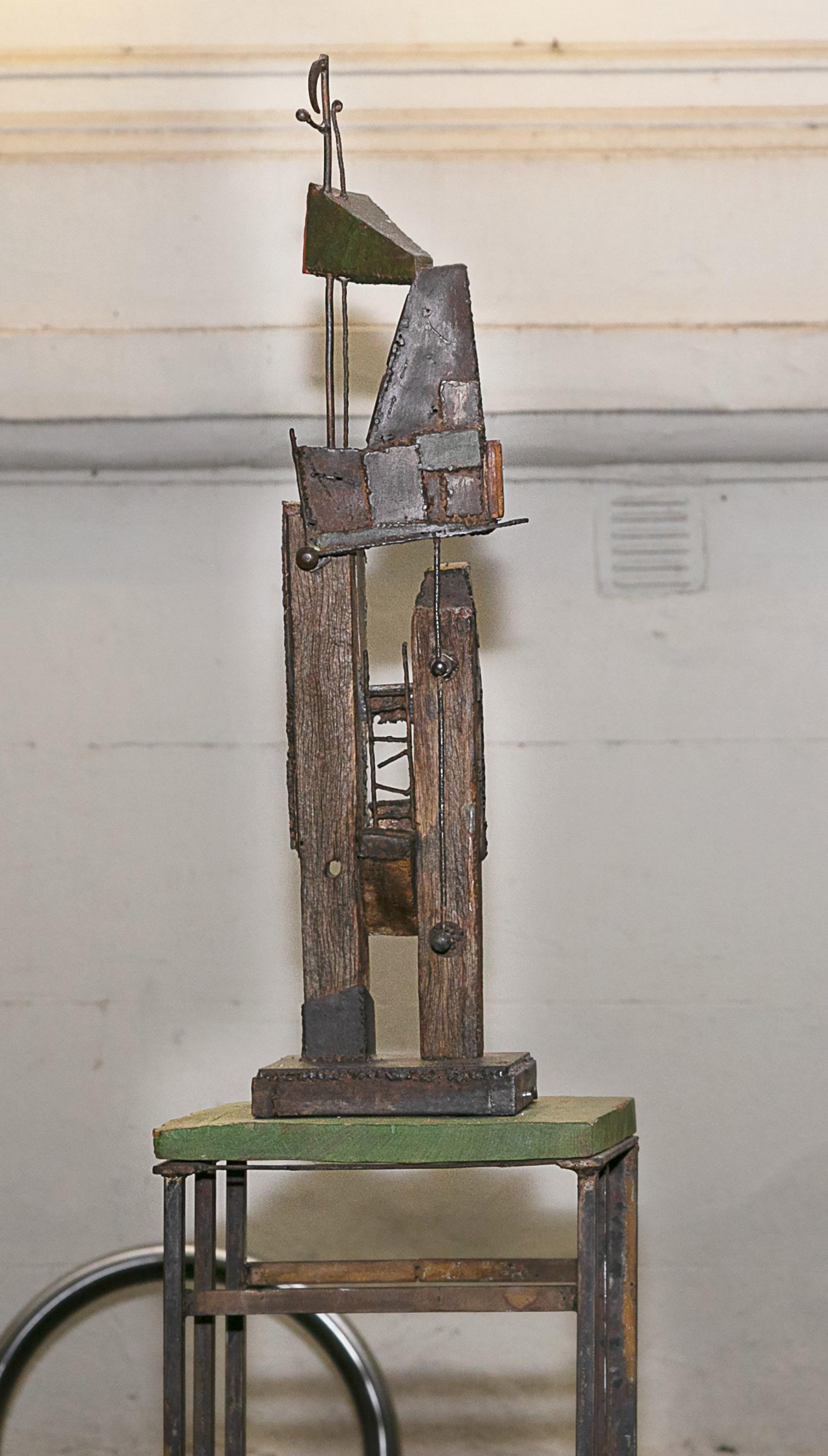 Fue en el taller del reconocido escultor, Ricardo de la Serna, donde Carmela Blanco encontró en la escultura otra forma de expresarse