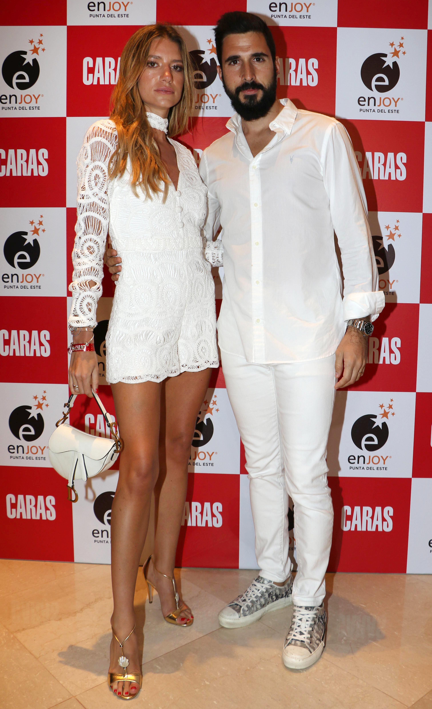 Angie Landaburu y Tomás Eurnekian