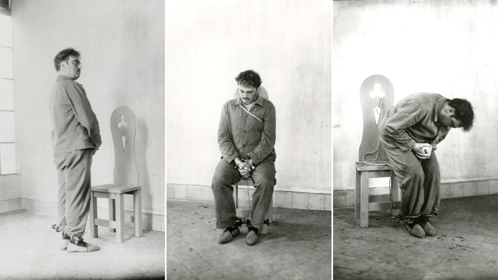 Fotos del fusilamiento de Severino Di Giovanni