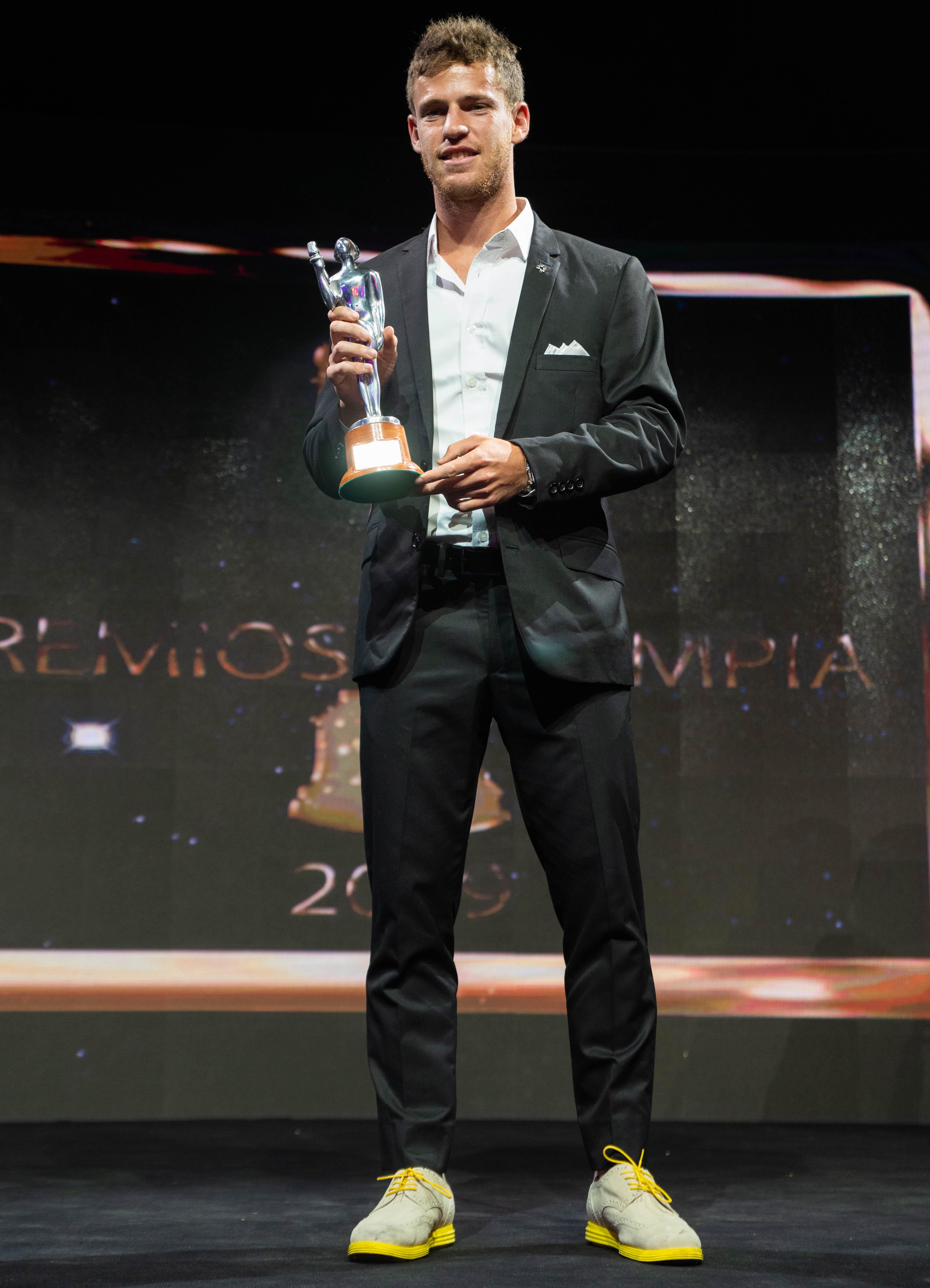 Diego Schwartzman ganó en la categoría Tenis.