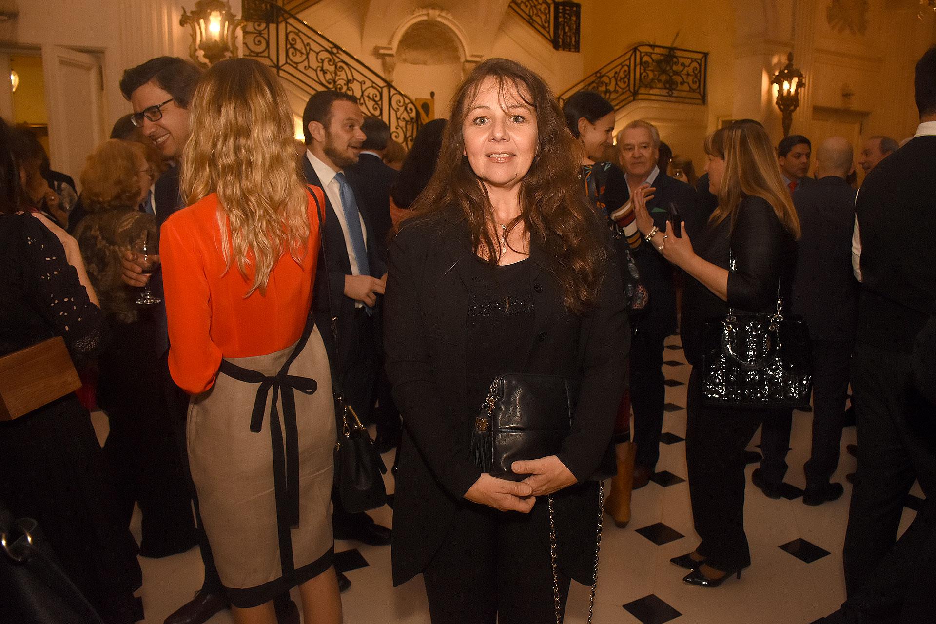 La escritora Gisela Garcia