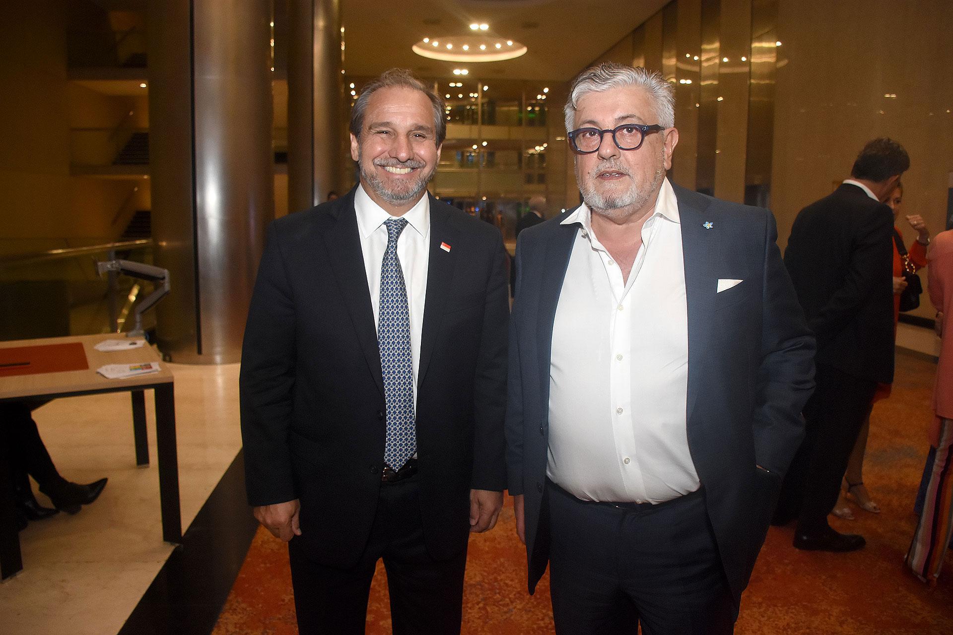 Los empresarios Nicolás Caputo y Carlos Gorosito