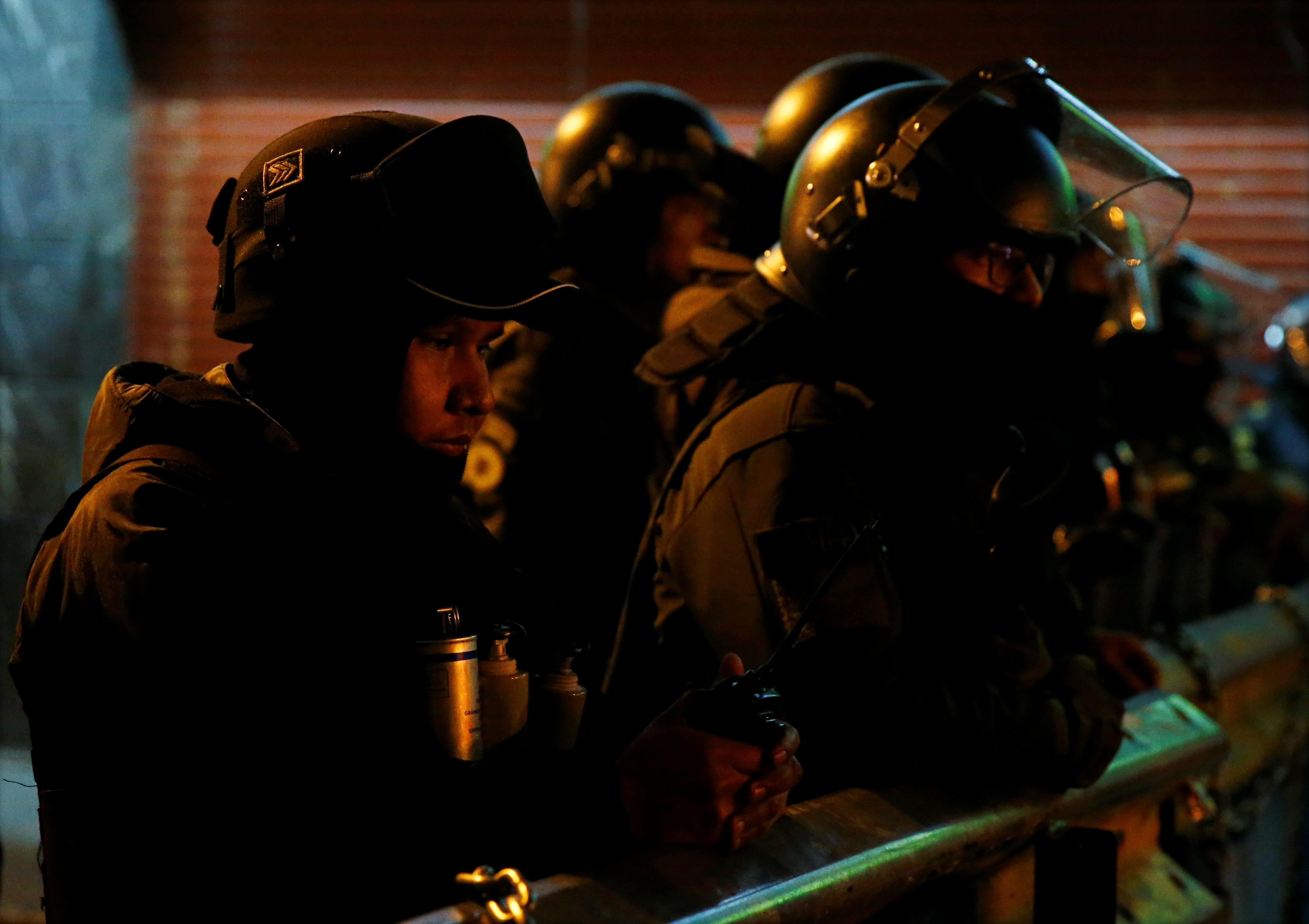 Protestas La Paz.