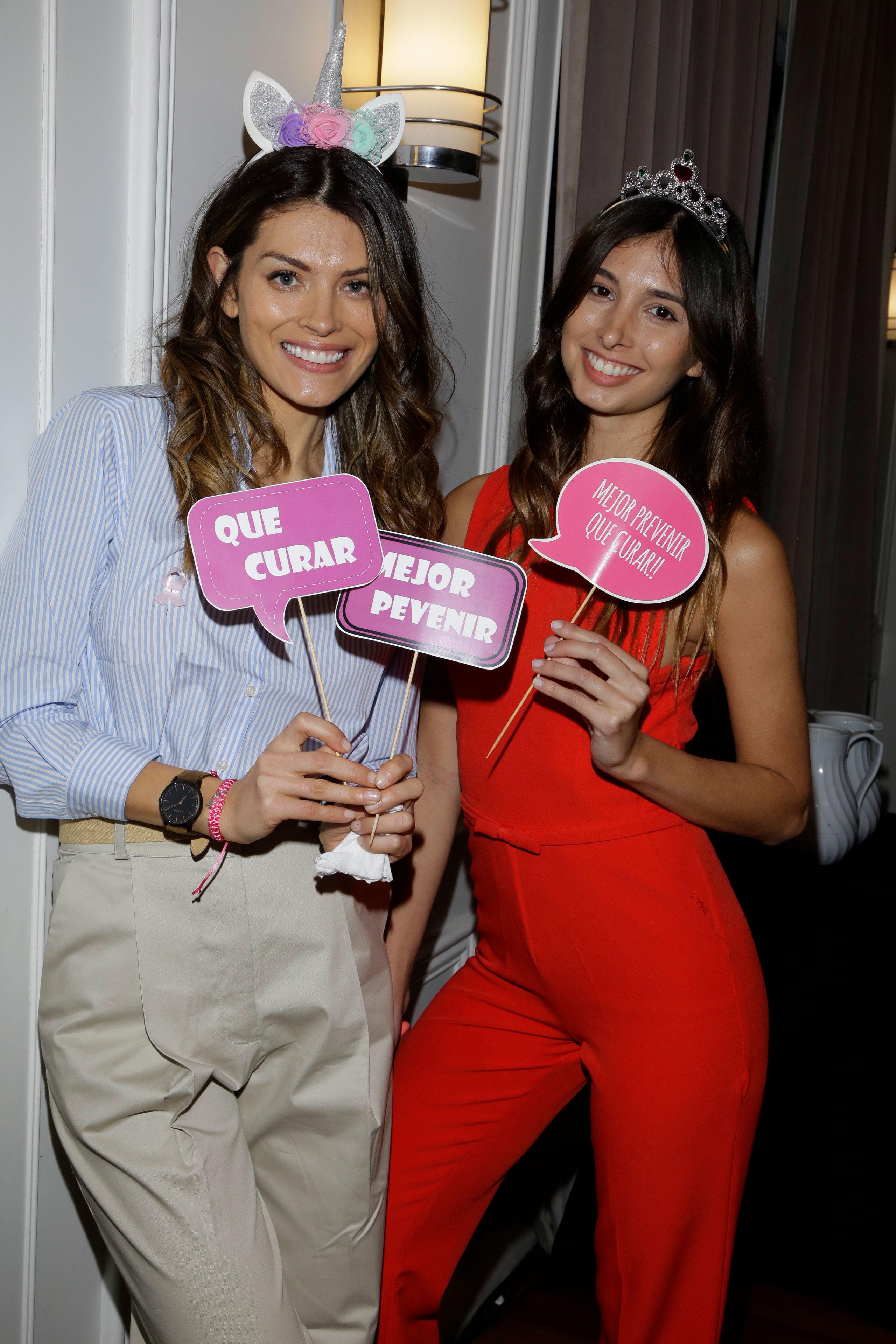 Sendy Cáceres y Eugenia Sánchez /// Fotos: Gentileza Visage Entertainment y Nueva Comunicación