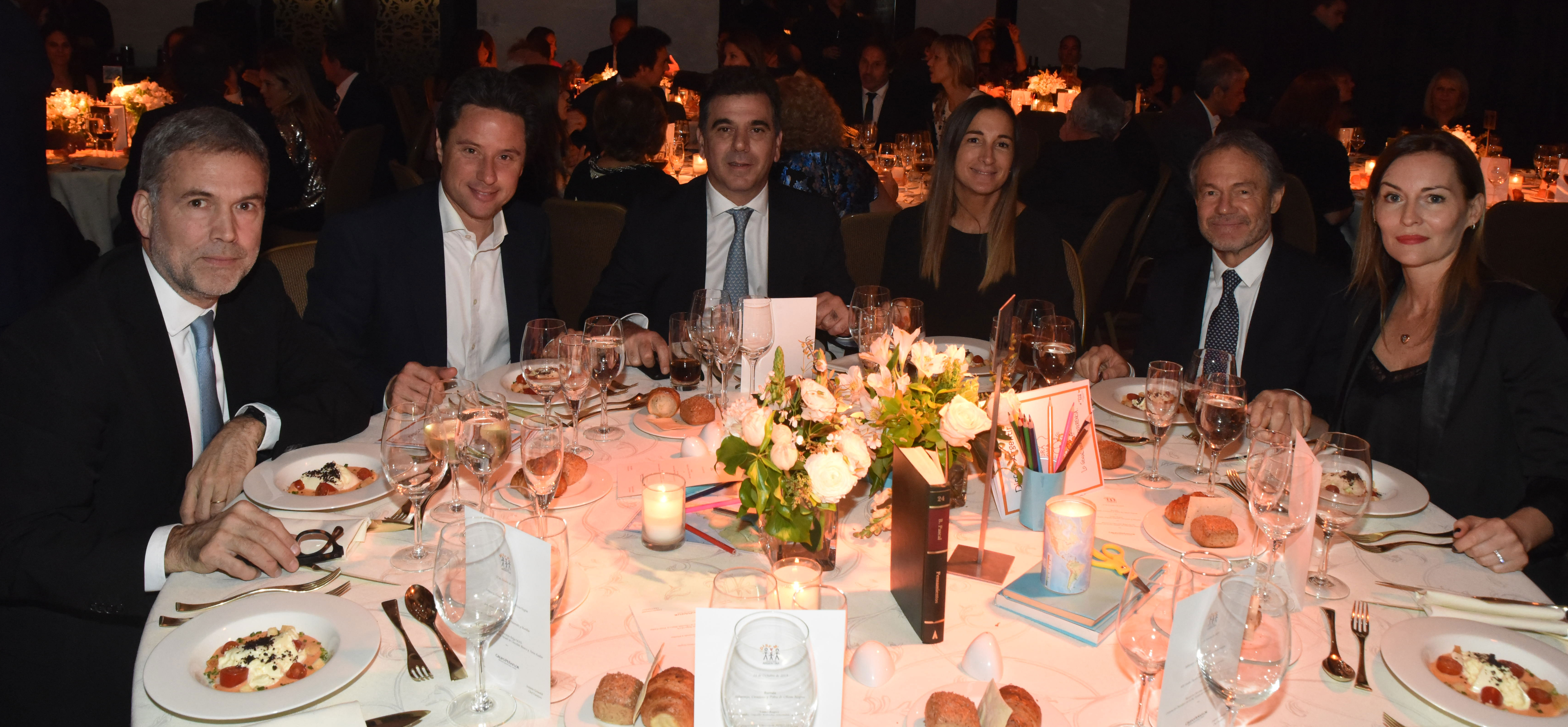 Augusto Rodríguez Larreta junto a Gabriel Sánchez Zinny, Cristian Ritondo y Gustavo Ferrari