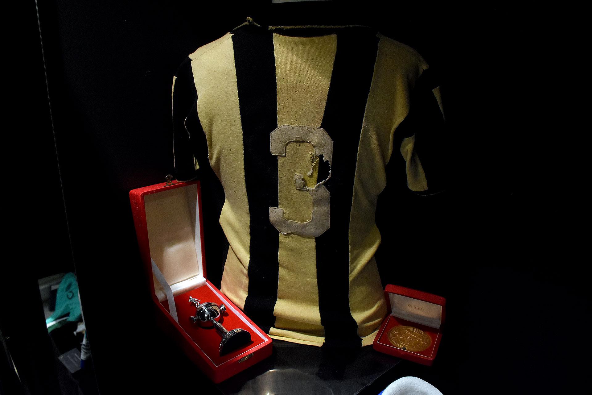 La número 3 de Peñarol de Montevideo, campeón de la Copa de Campeones (luego Copa Libertadores) en su primera edición de 1960 (Nicolas Stulberg)