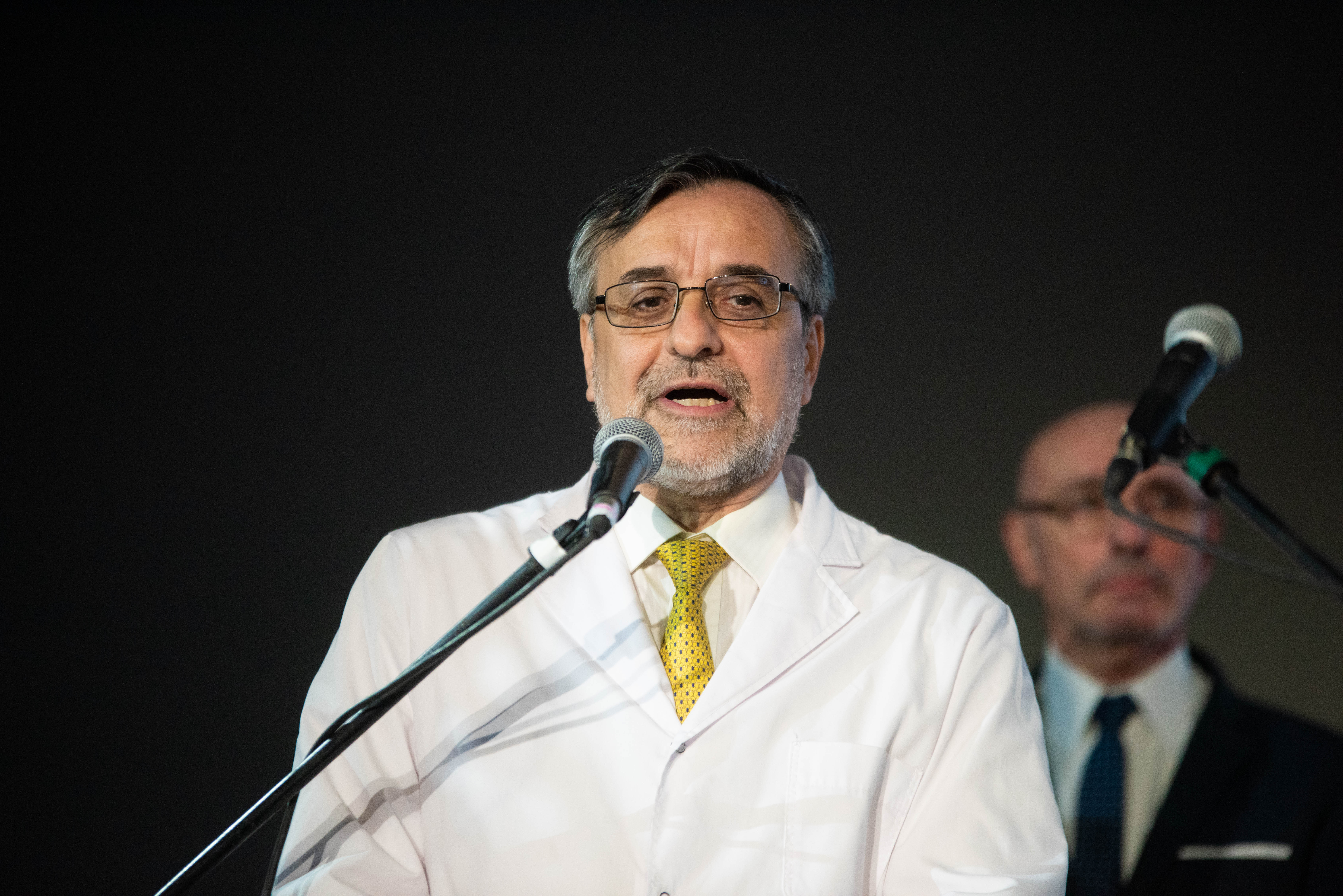 Fernando Cichero, director del Hospital de Rehabilitación Manuel Rocca