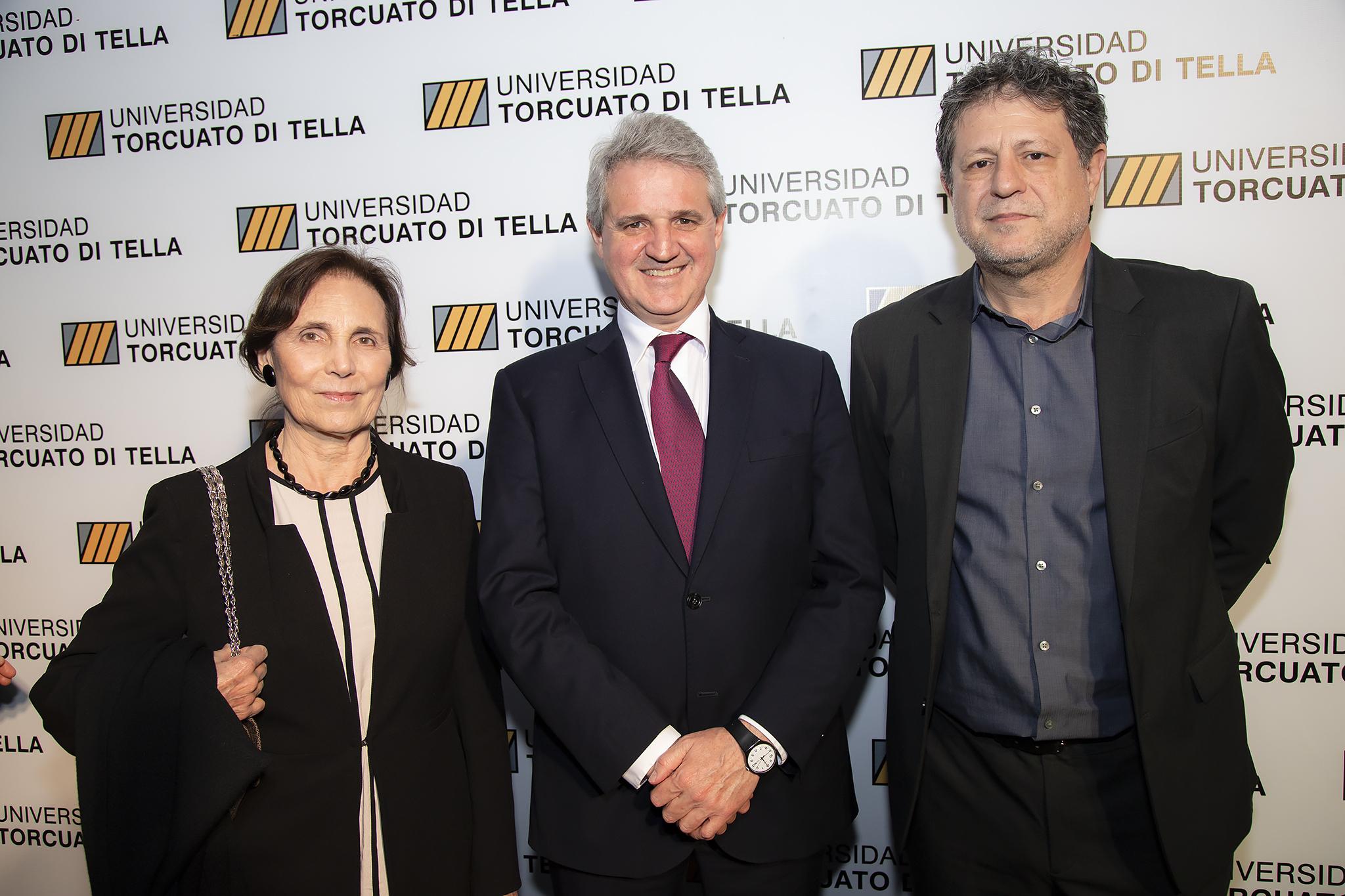 Elena Maza de Catena, Juan José Cruces y Eduardo Levy Yeyati