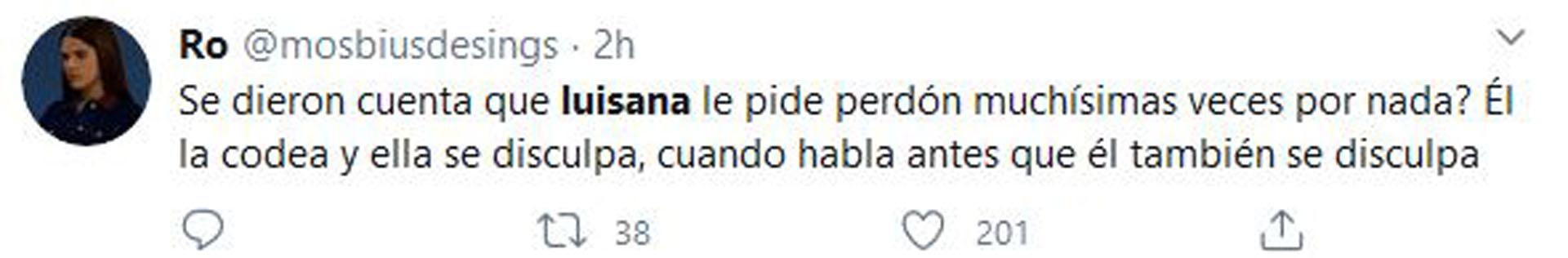 Algunos de los mensajes en las redes sociales sobre los gestos de Michael Bublé con Luisana Lopilatio