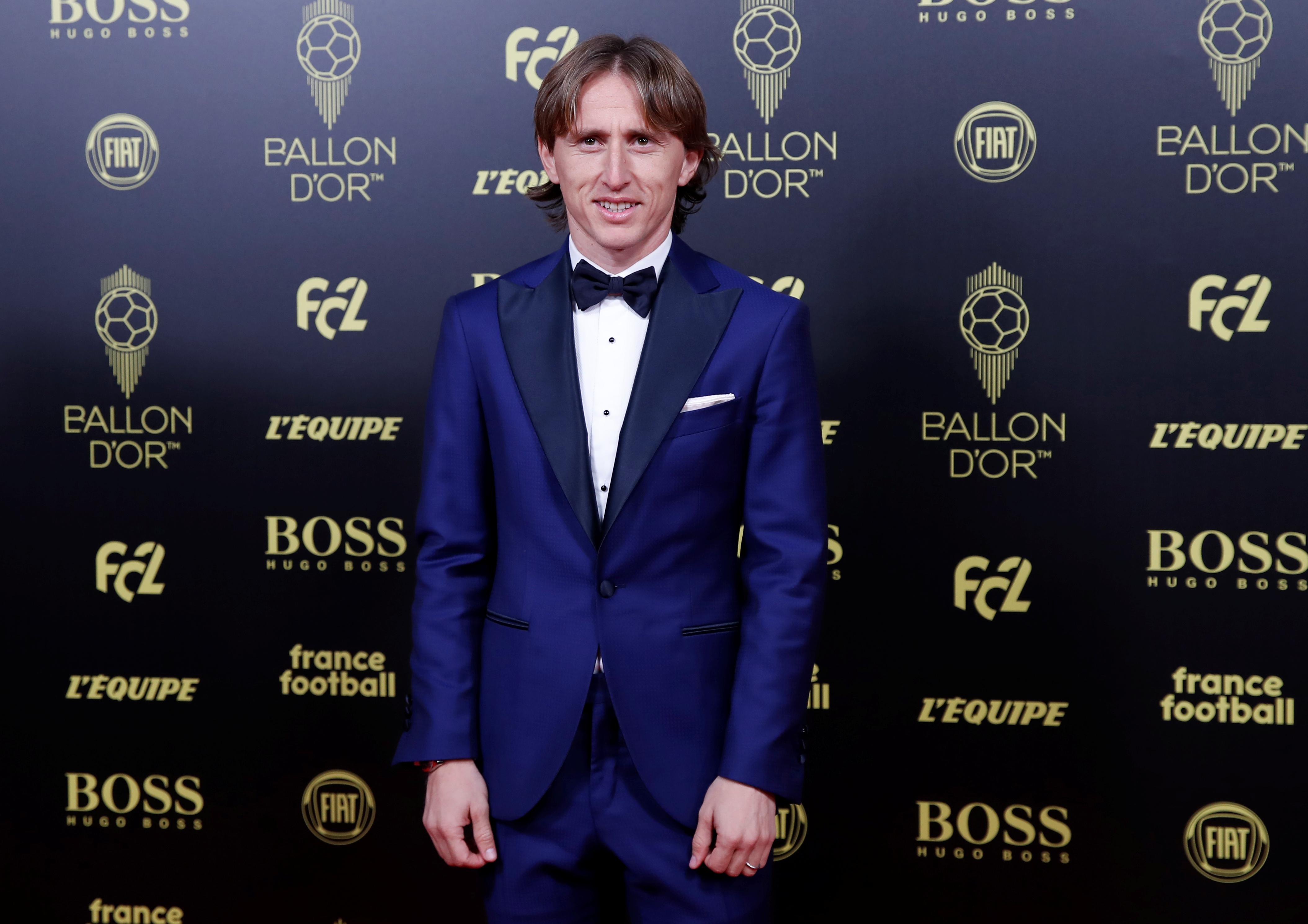 Luka Modric, ganador del Balón de Oro en 2018