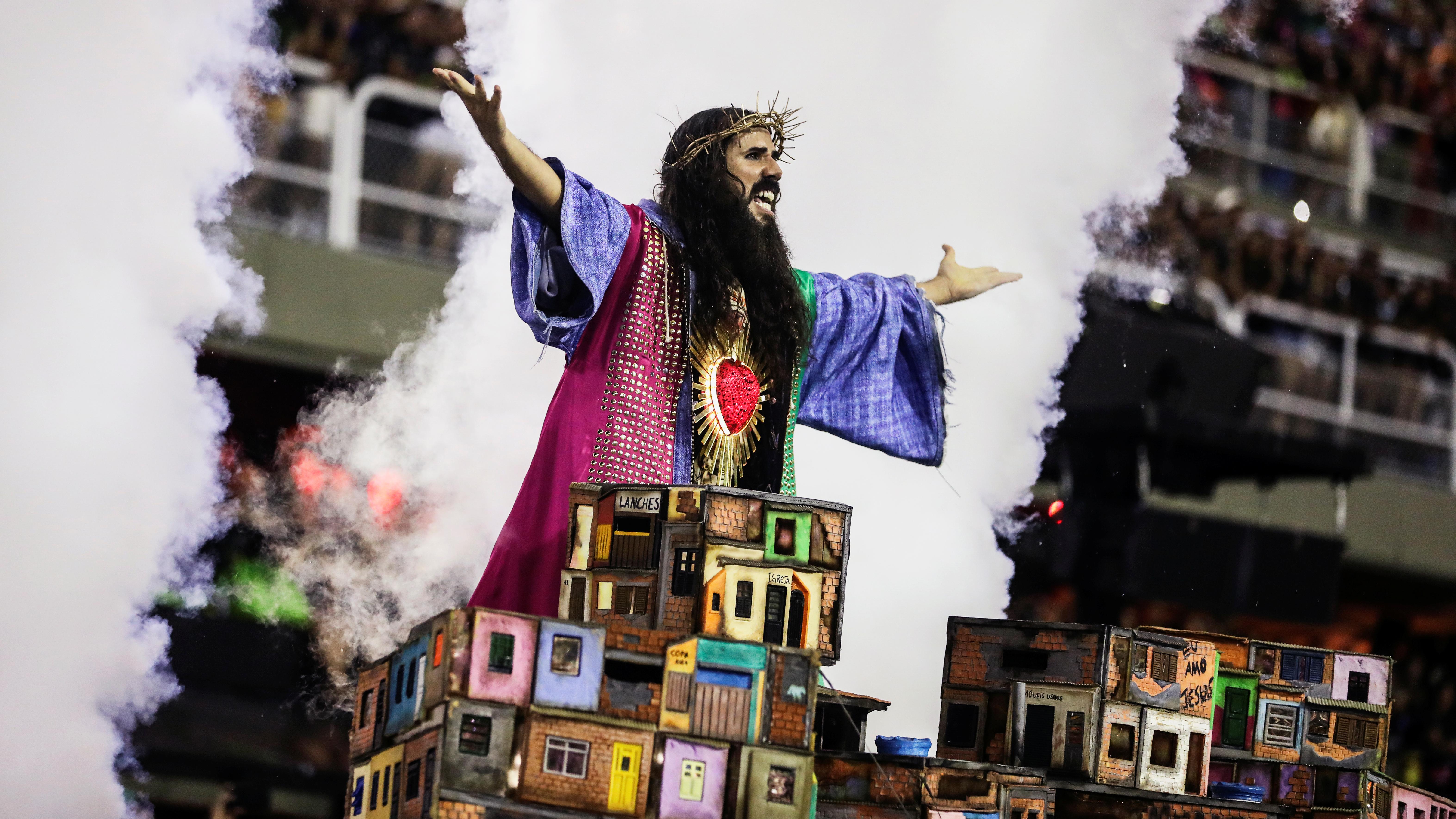 Mangueira samba school REUTERS/Pilar Olivares