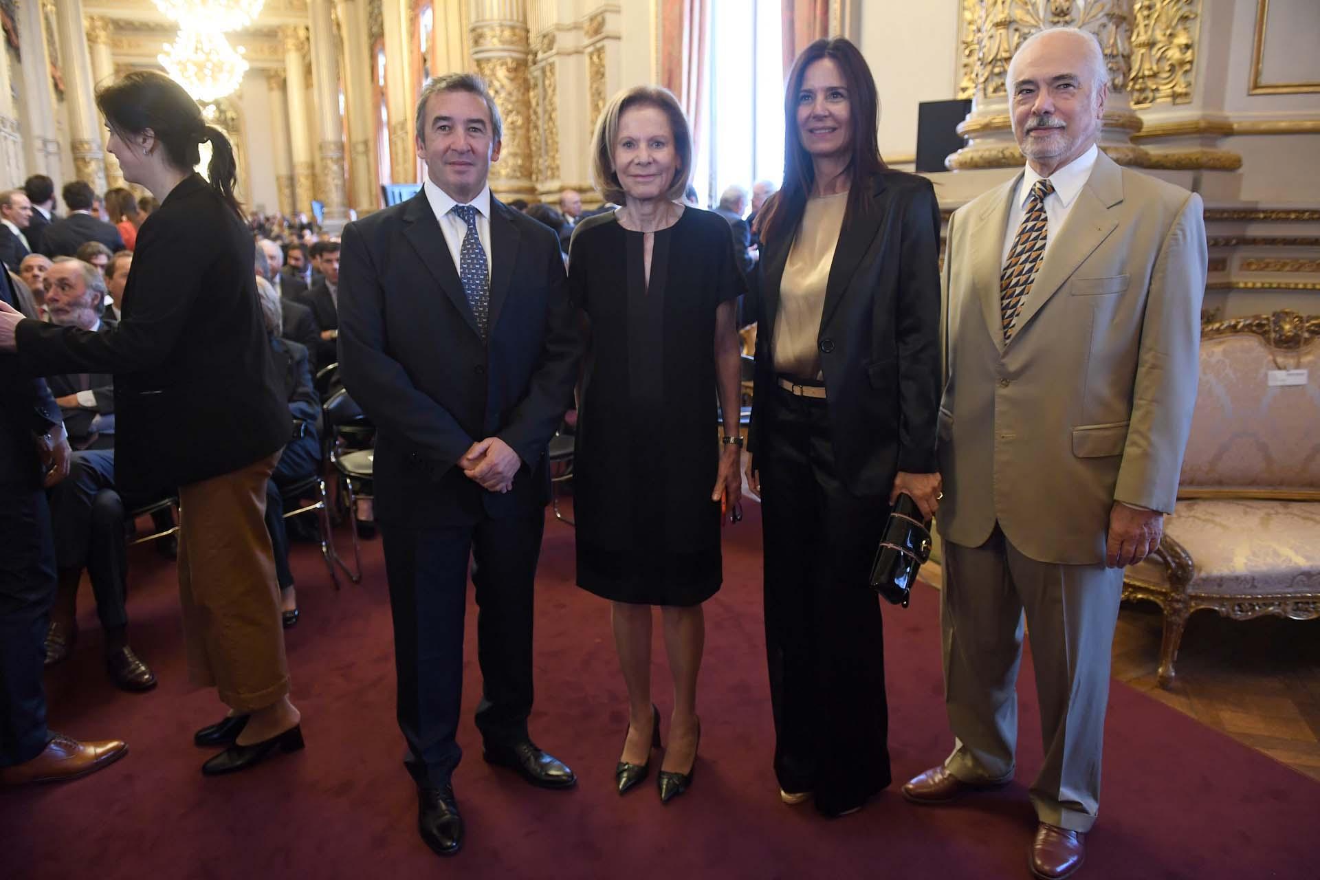 Los miembros del TSJ de CABA Santiago Otamendi, Inés Weinberg de Roca, Marcela de Langhe y Luis Lozano.