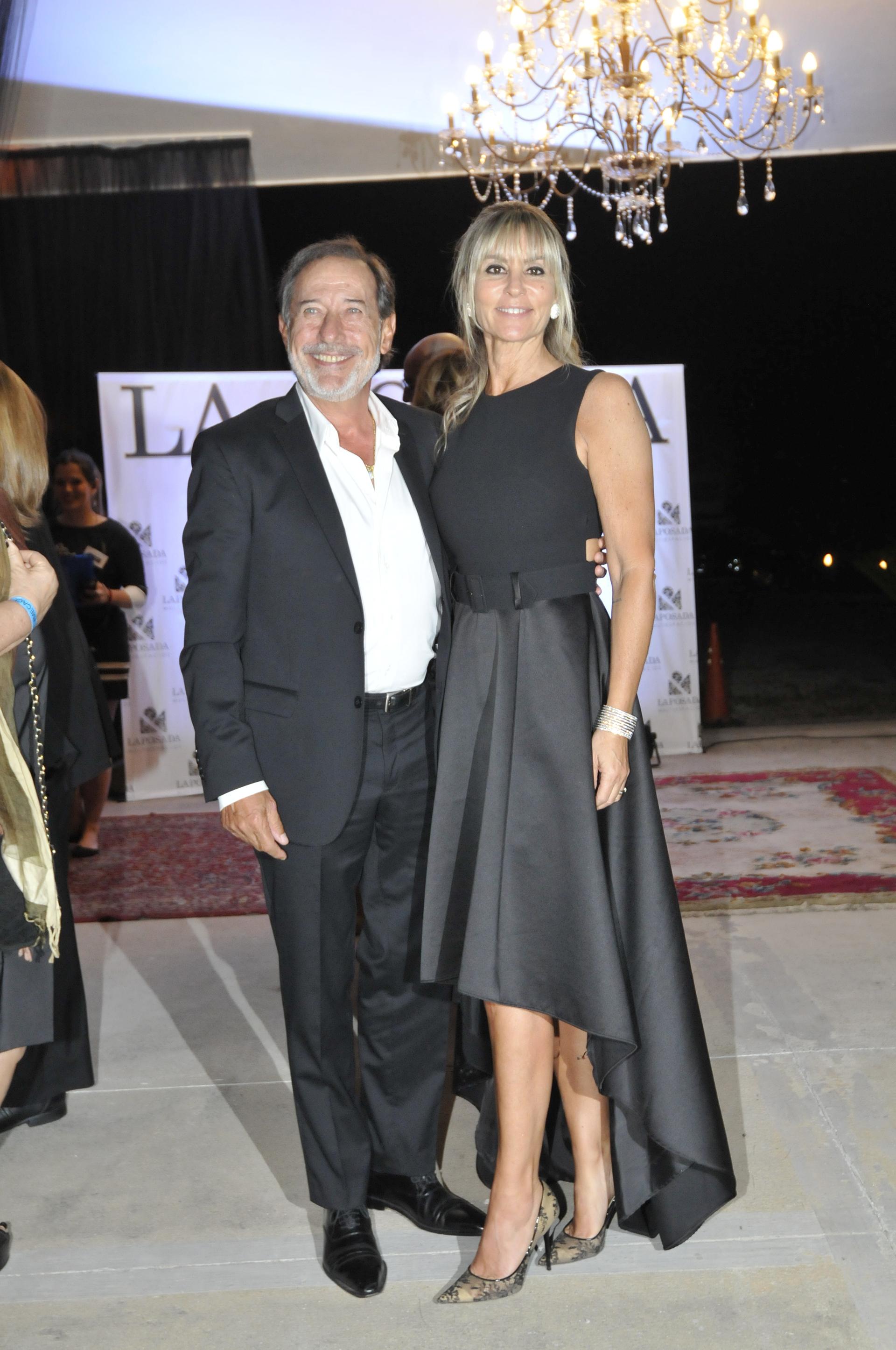 Guillermo Francella y su mujer, Marynés Breña