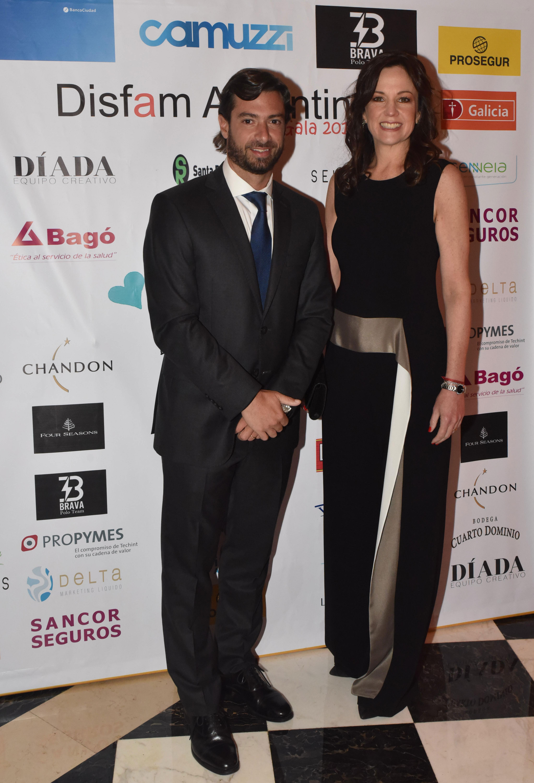 La ministra de Desarrollo Social, Carolina Stanley, y su marido, el jefe de Gabinete de la provincia de Buenos Aires,, Federico Salvai