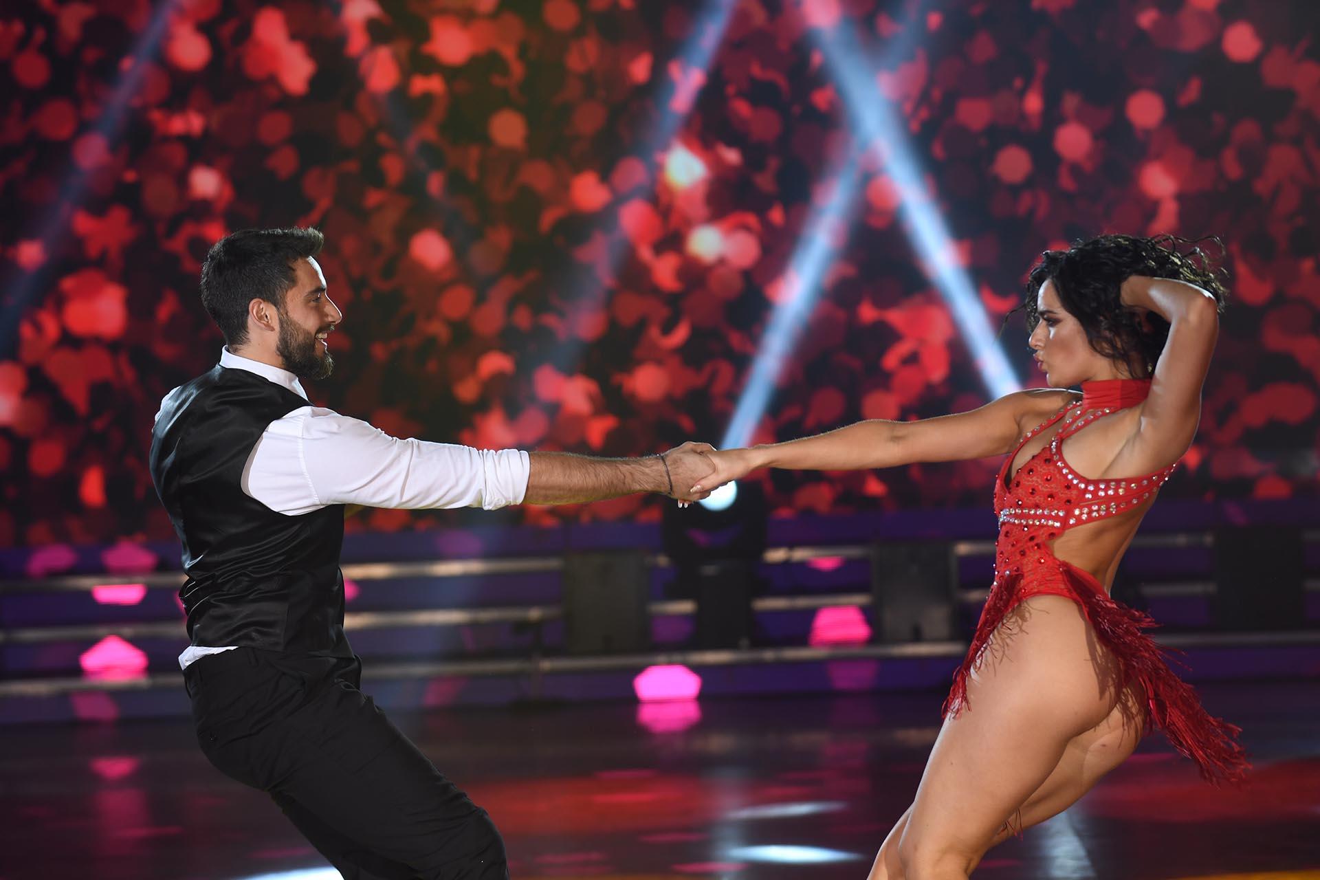 Nicolás Occhiato y Flor Jazmín Peña en el ritmo Jive (Foto: Negro Luengo / LaFlia)