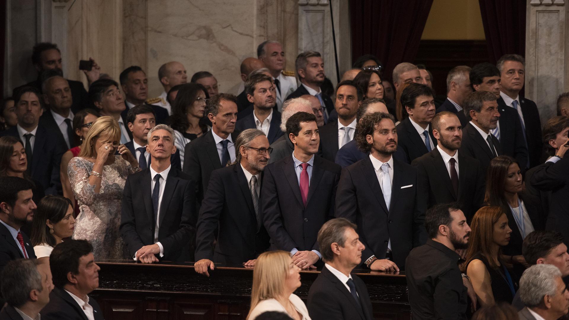 El gabinete de Alberto Fernández en el Congreso