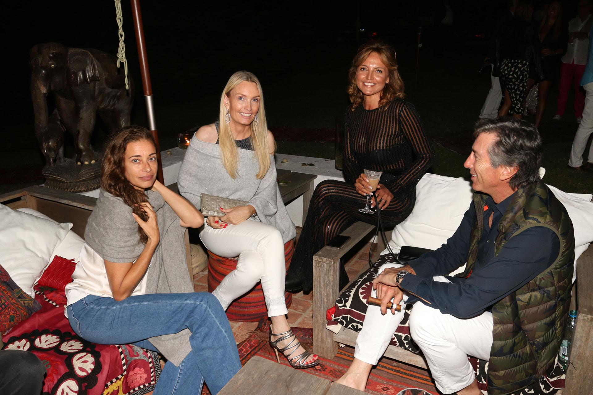 Georgina Alliata, Cathrine Roemmers, Pamela Saguier y Pablo Roemmers