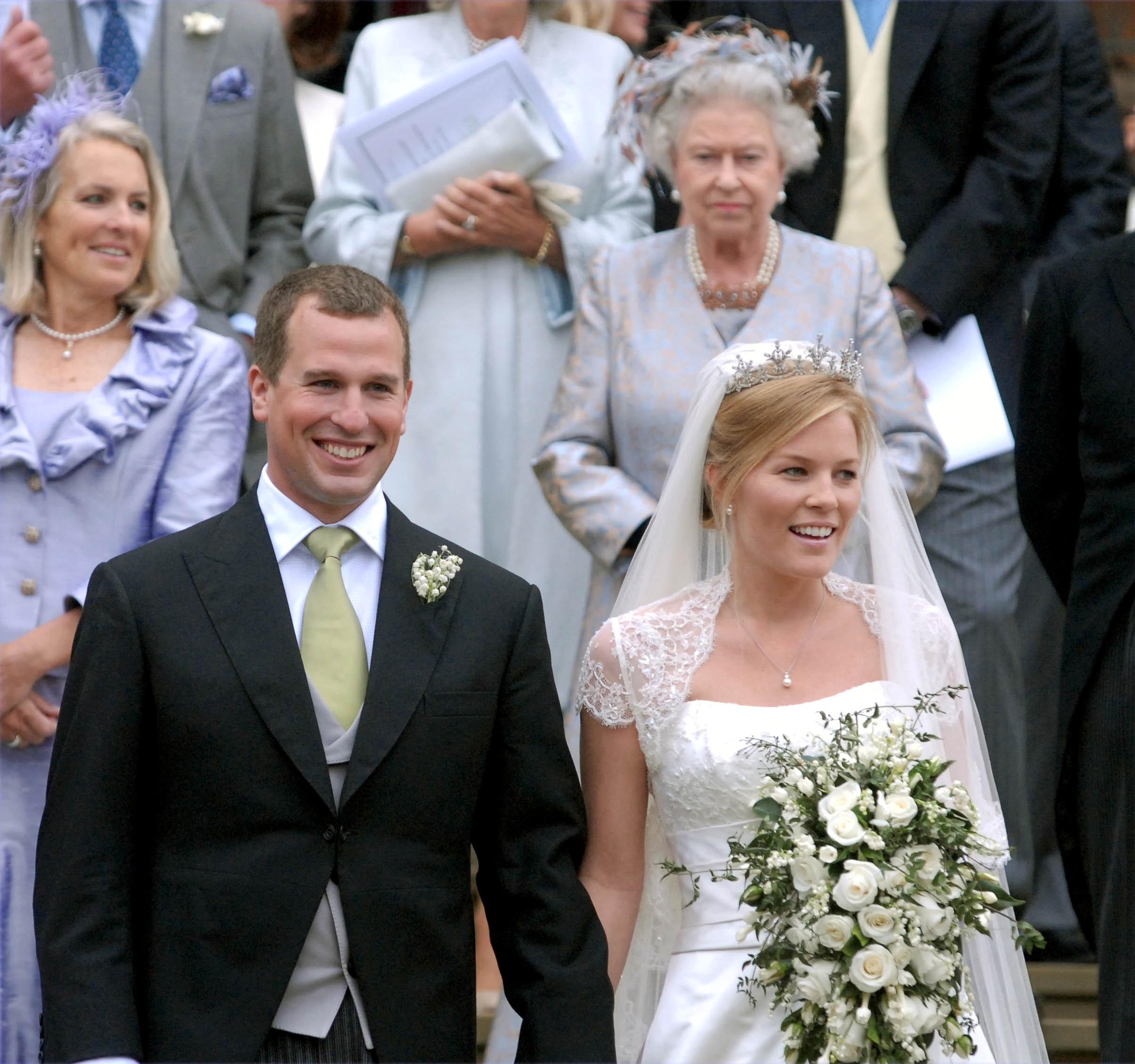 Otro Golpe Para La Corona Britanica Se Divorcio El Nieto Mayor De La Reina Isabel Ii Infobae