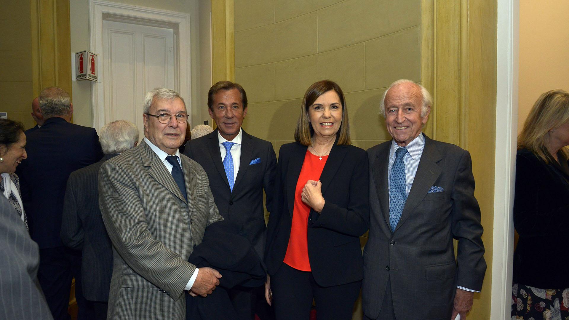 Juan Bautista Jofre, José María Kreckler, Liliana Parodi y Santiago Soldati