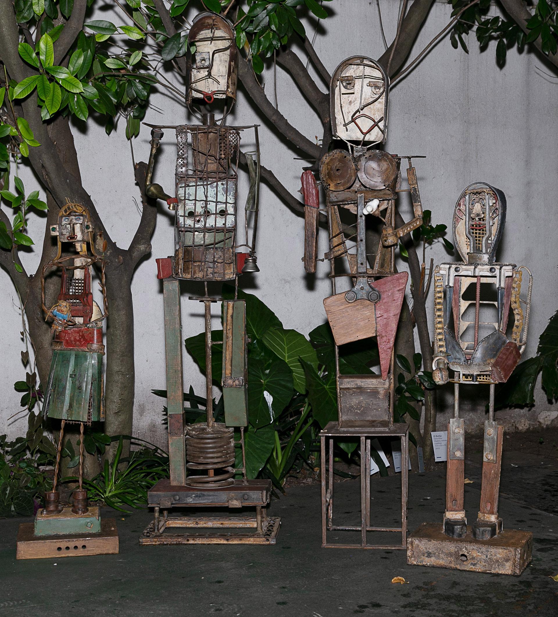 La exposición permanecerá abierta hasta el 30 de noviembre en el Museo de Arte Popular José Hernández