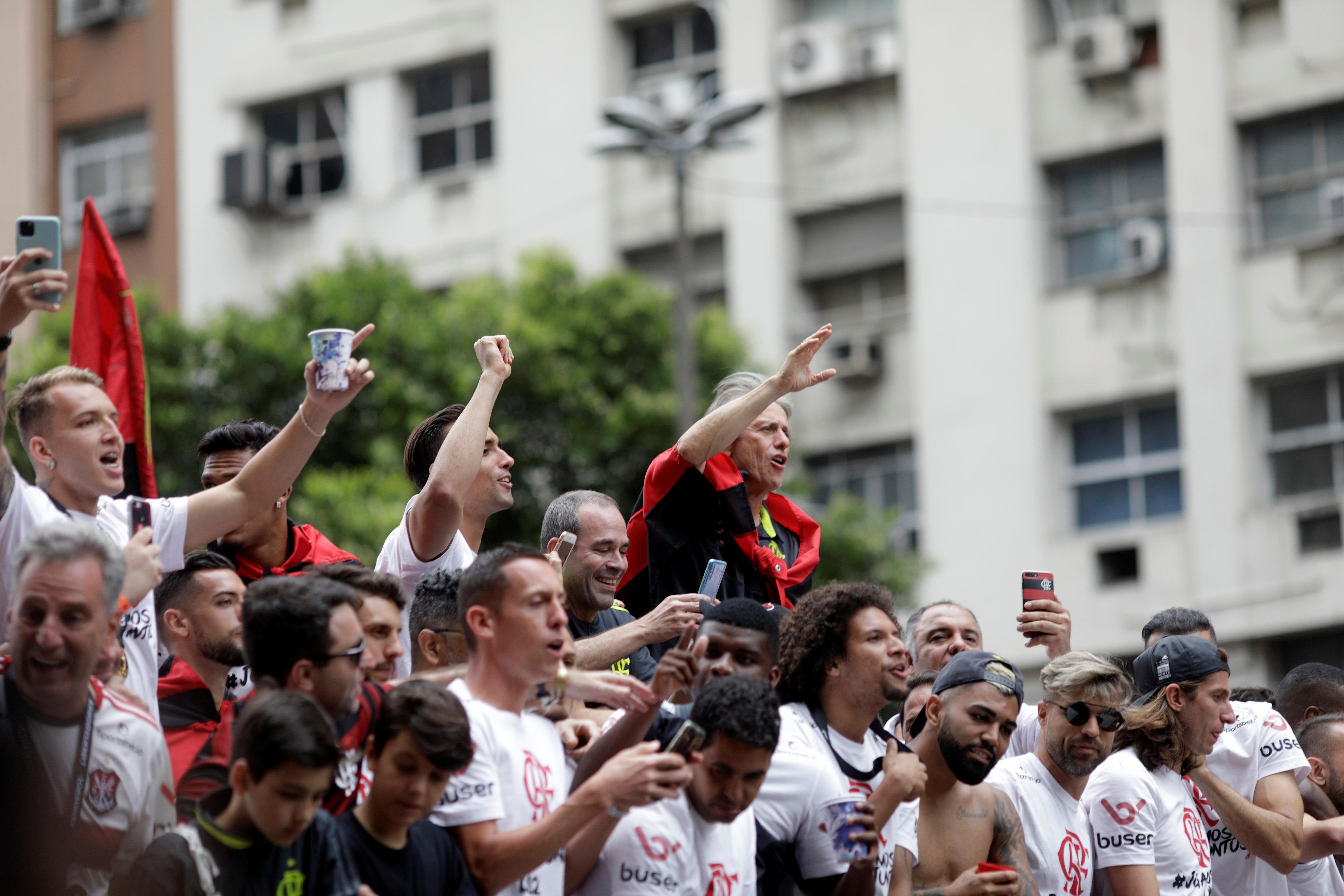 El Flamengo, además, puede ser campeón del Brasileirao este domingo si el Palmeiras no gana