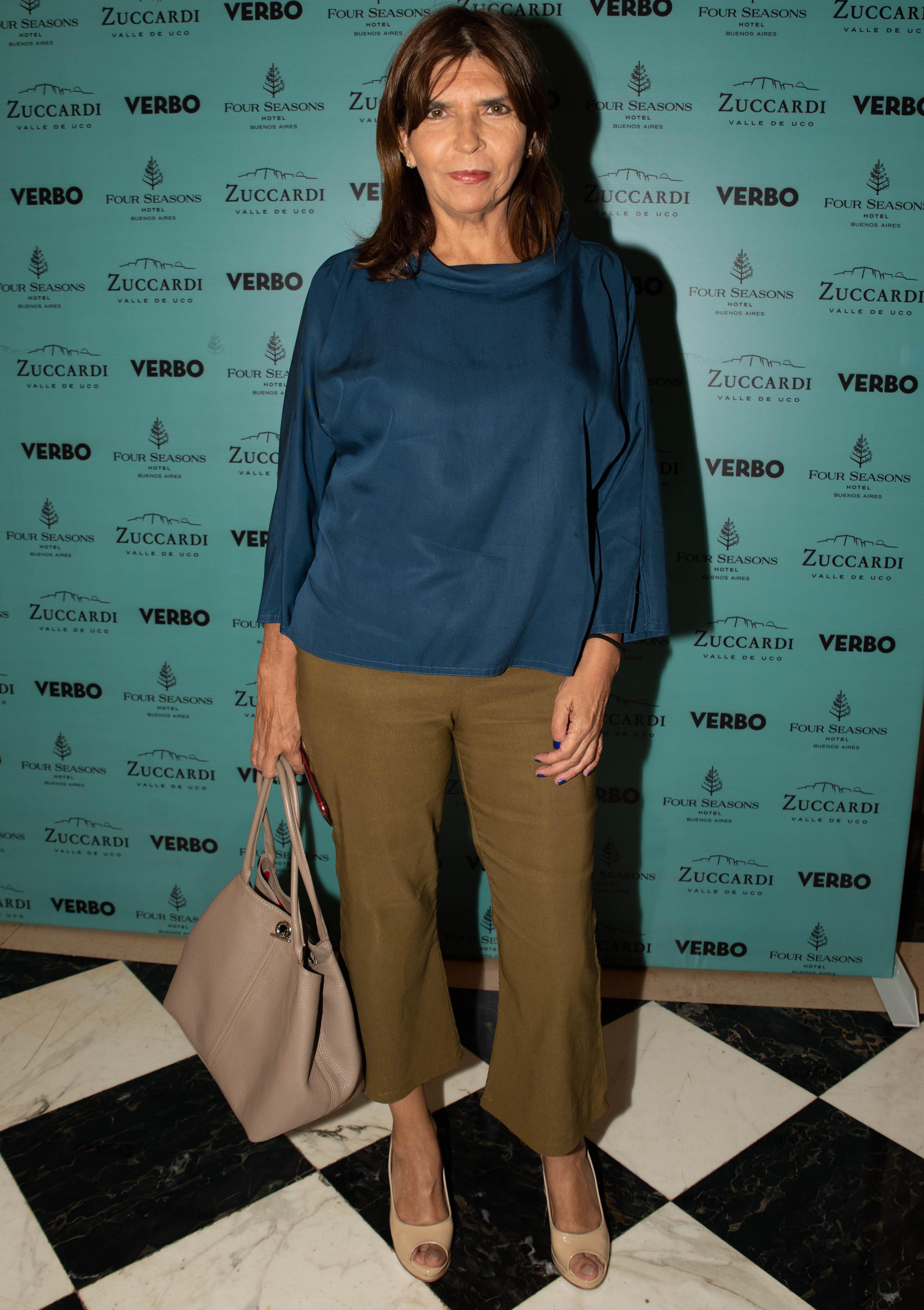 La periodista y escritora Silvia Mercado