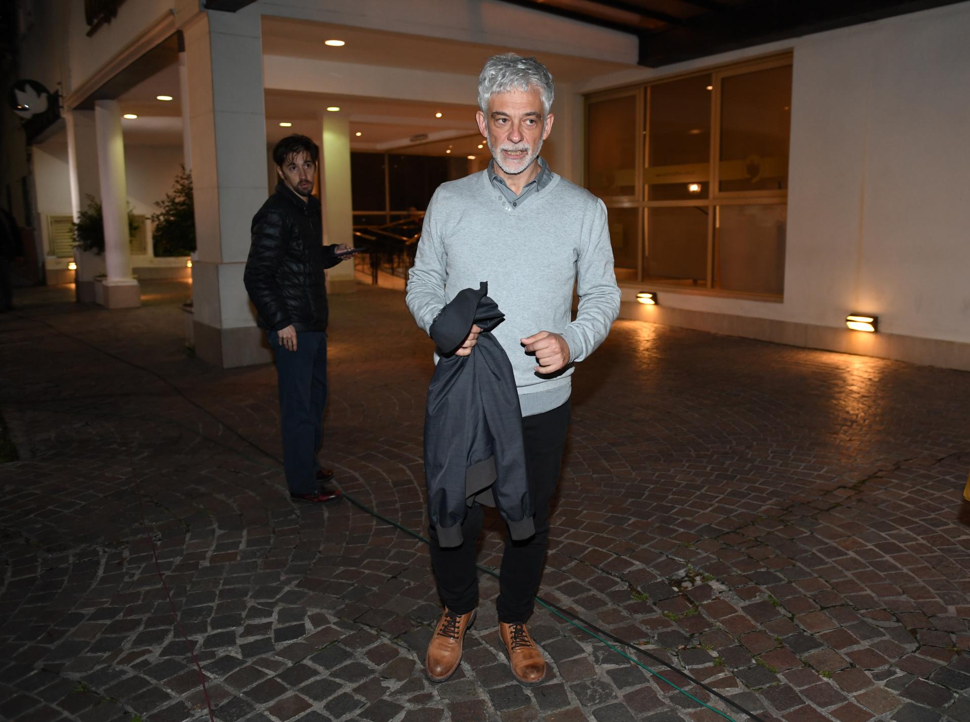 El productor televisivo Claudio Martínez
