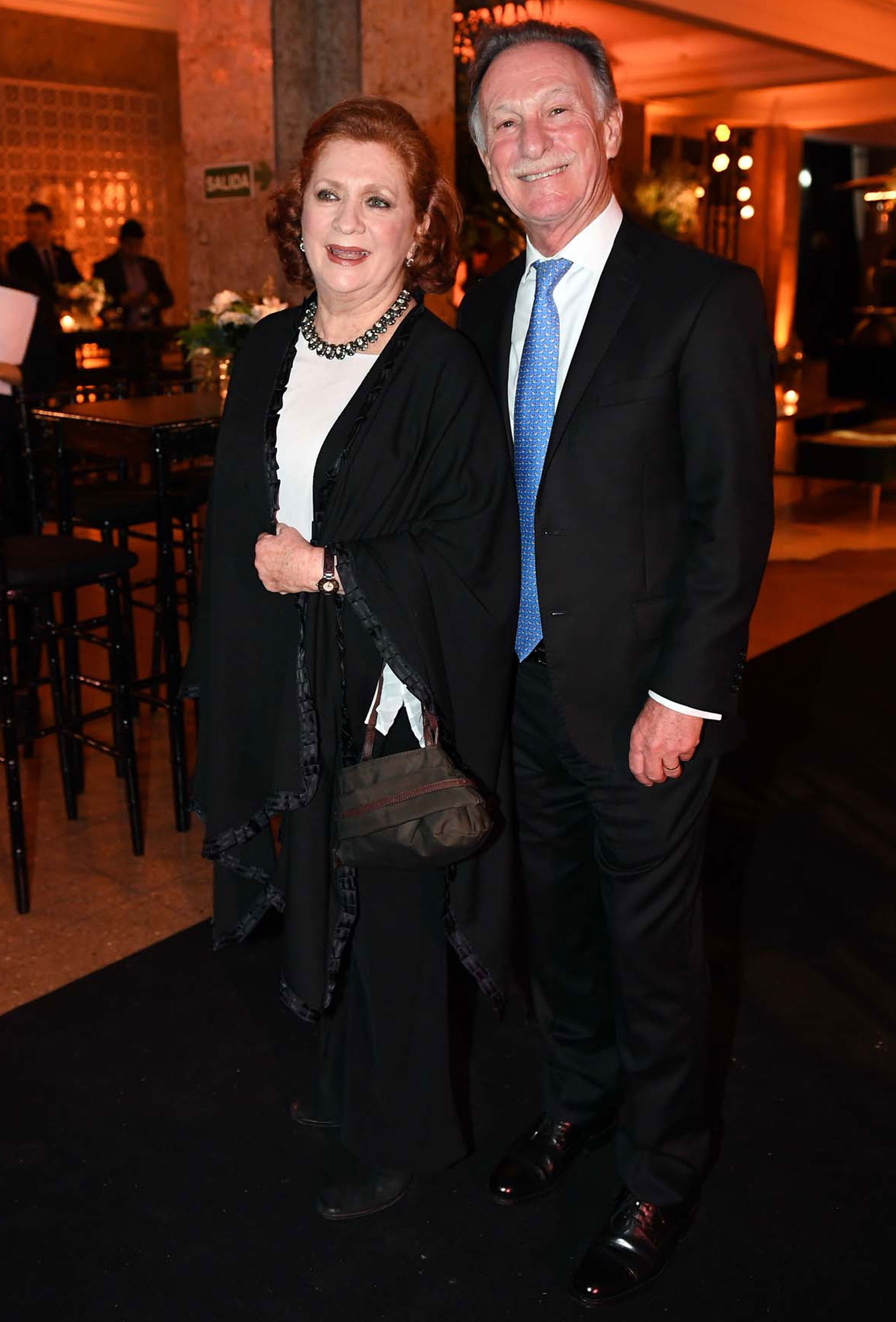 Teresa González Fernández y Gustavo Weiss