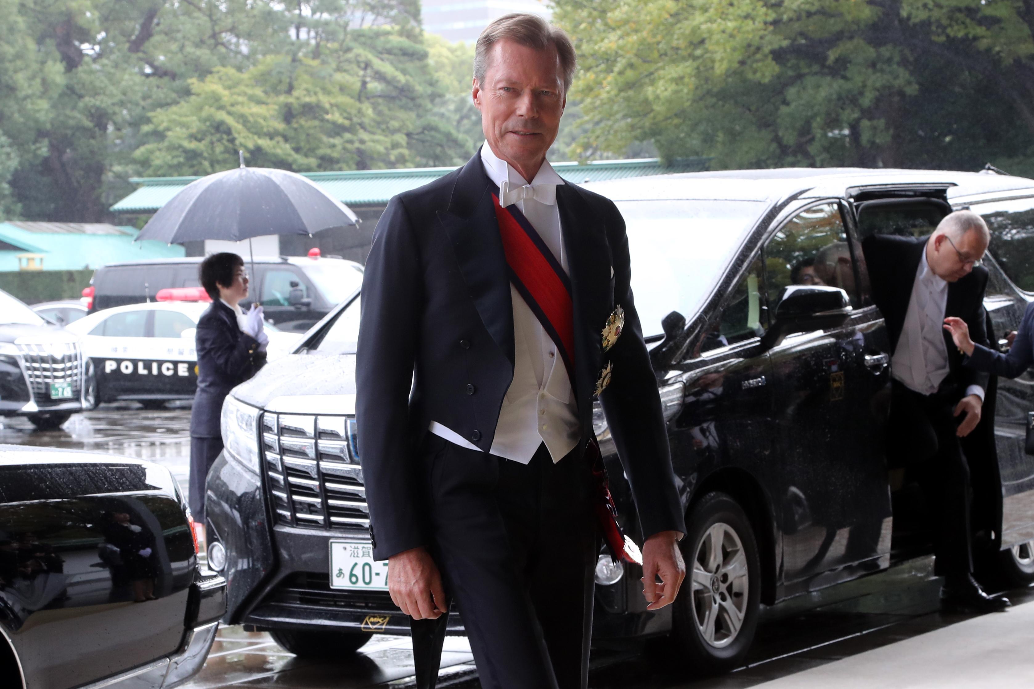 El duque Henri de Luxemburgo llega al Palacio Imperial ( AFP)